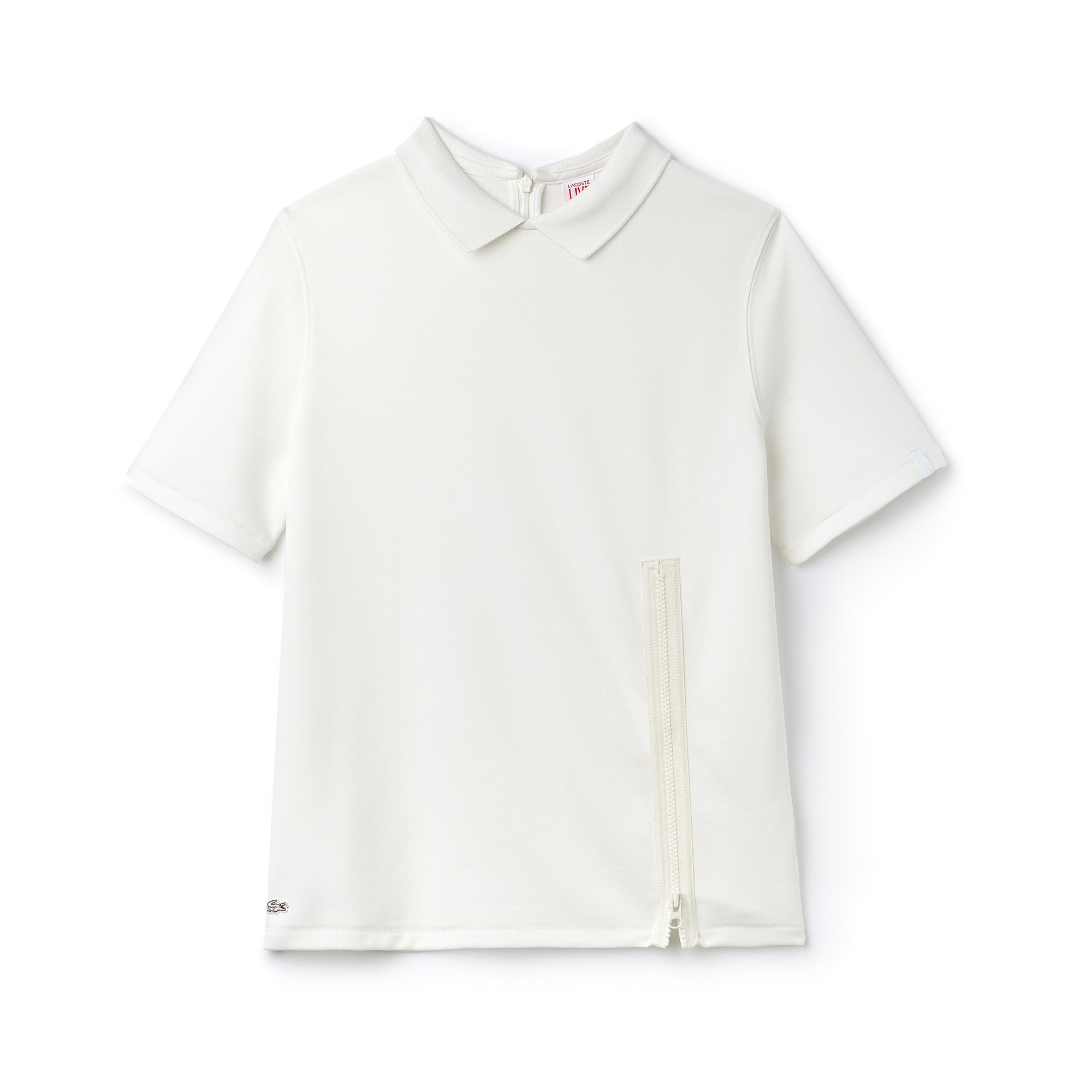 Women's LIVE Jersey Zip Polo