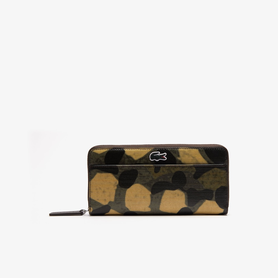 Women's Robert George Coated Print Canvas Zip Wallet