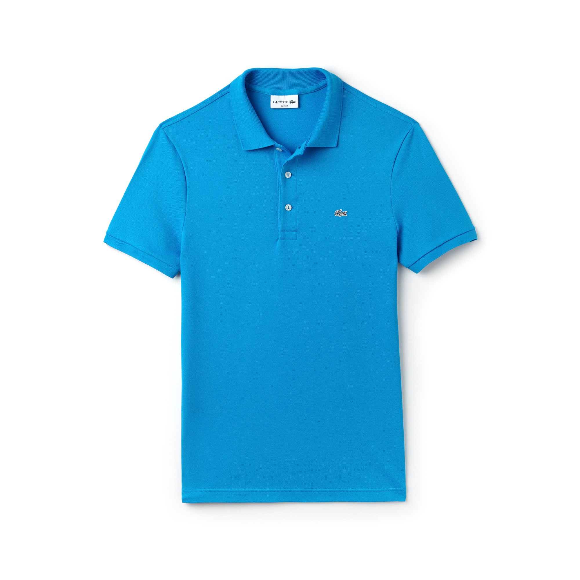 Men's Slim Fit Stretch Piqué Polo Shirt