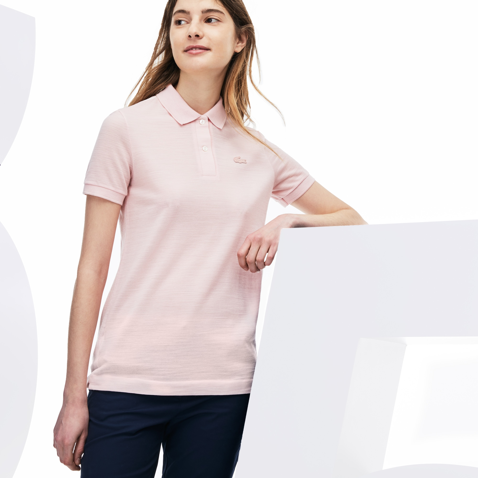 Women's Limited Edition Anniversaire 85 Ans Classic Fit Wool Piqué Polo