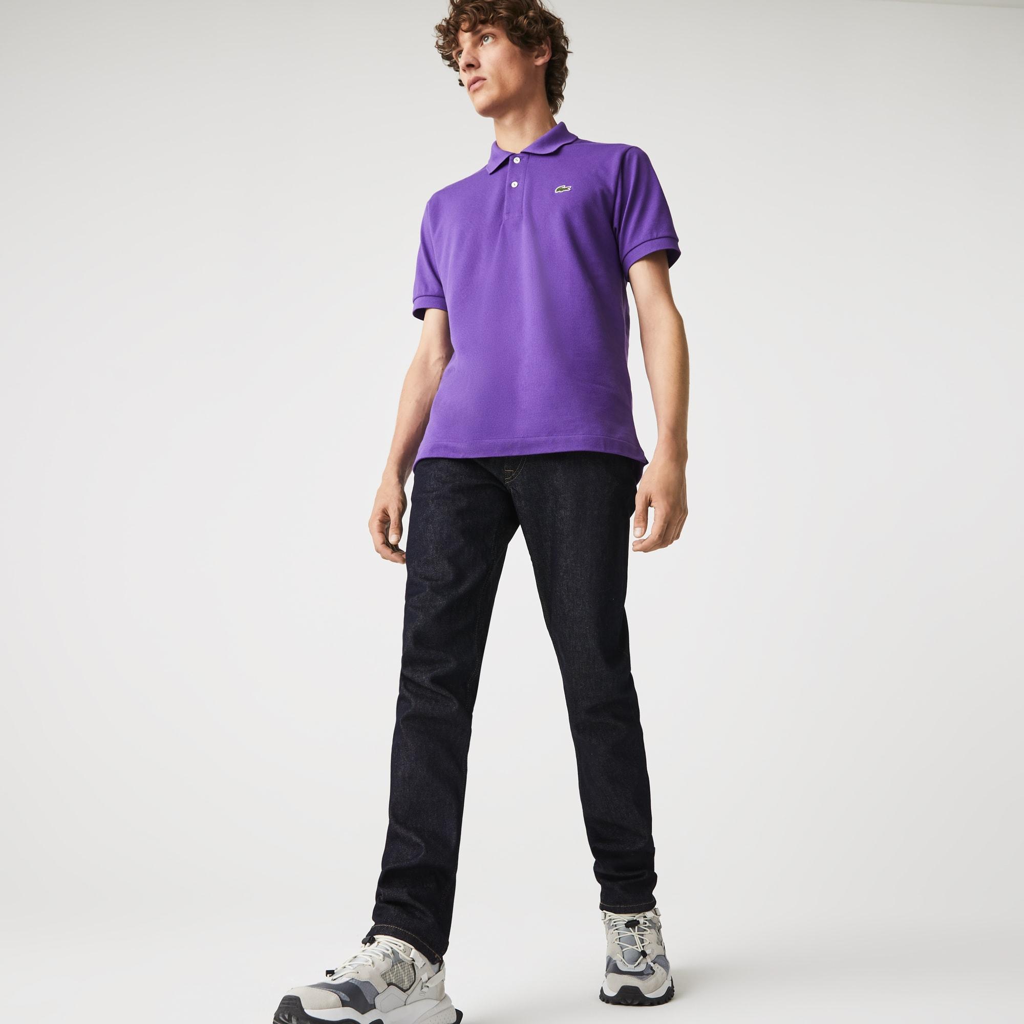 Lacoste Mens Slim Fit Stretch Denim 5-Pocket Jeans