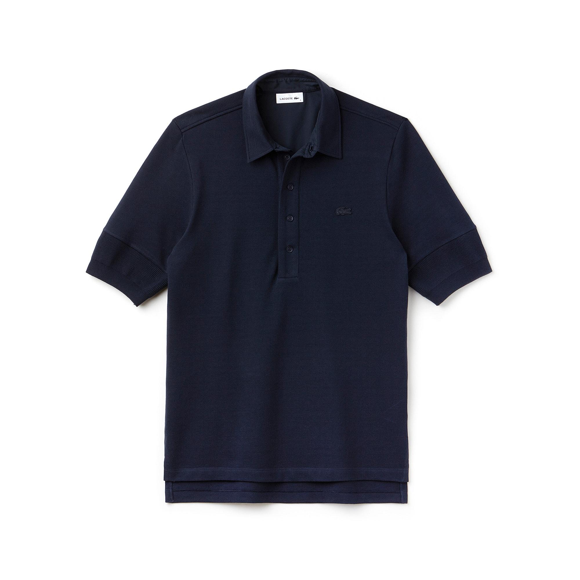 Men's  Fashion Show Brushed Cotton Piqué Polo