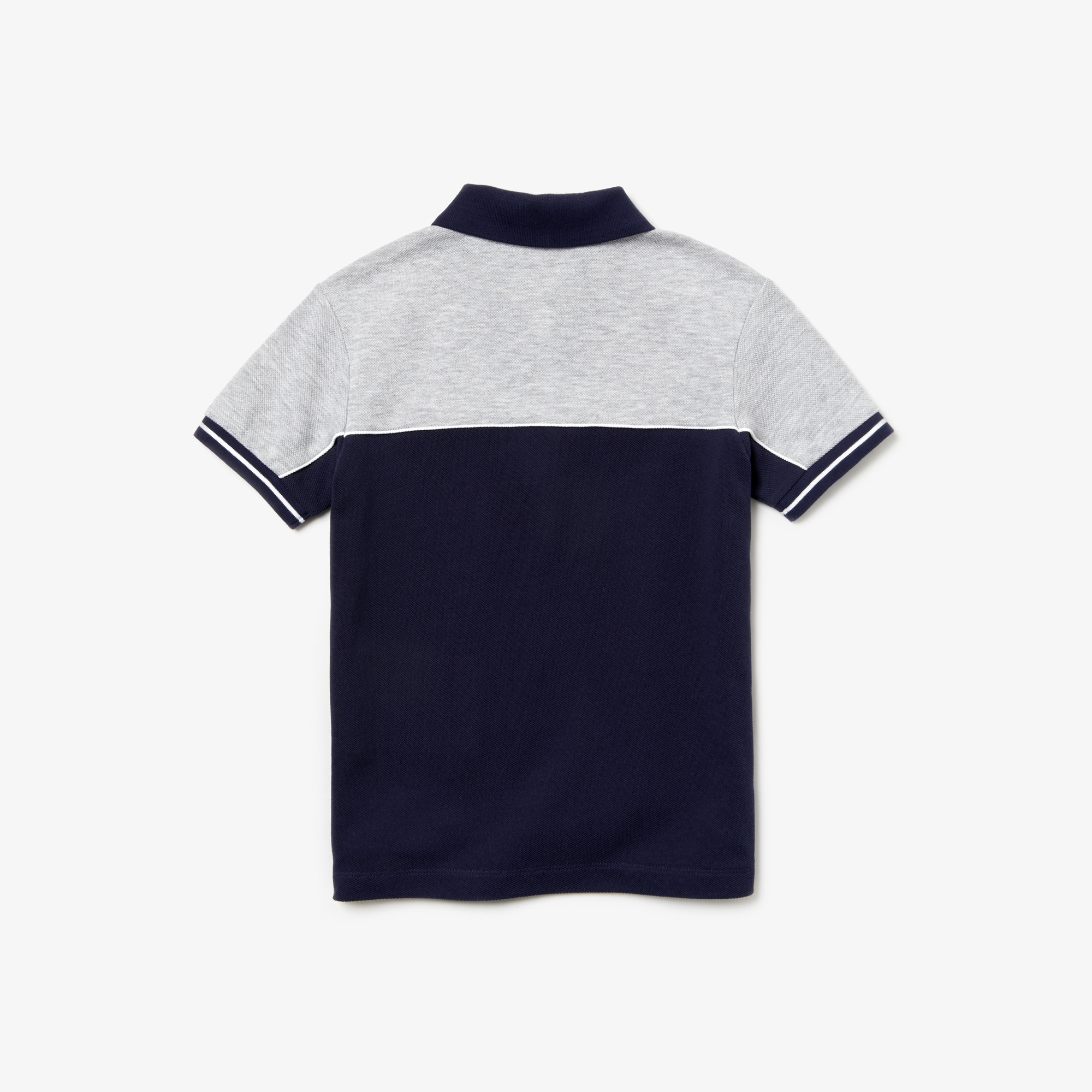 Boys' Color-Block Cotton Piqué Polo