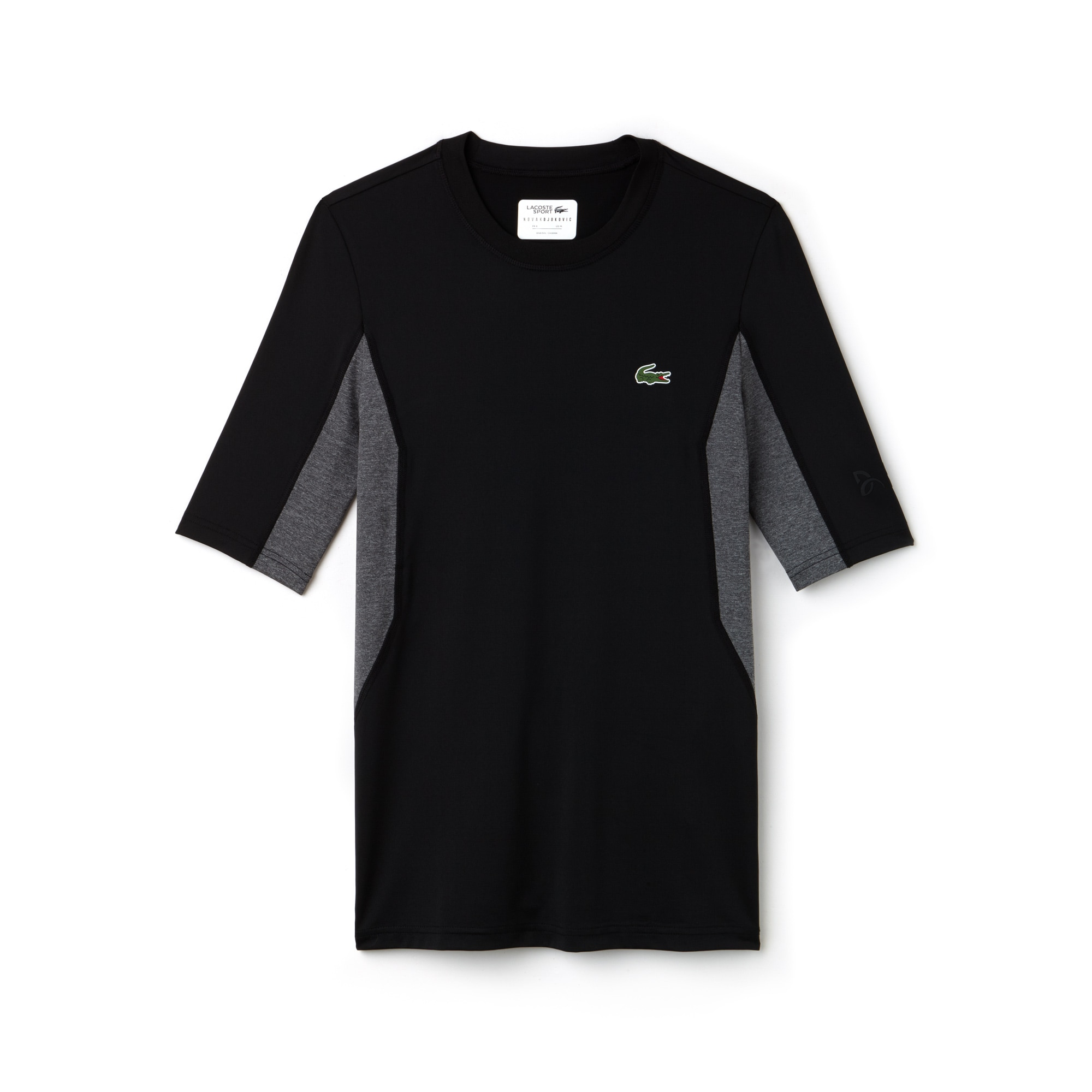 Men's SPORT Crew Neck Stretch Technical Jersey T-shirt -  x Novak Djokovic Off Court Premium Edition