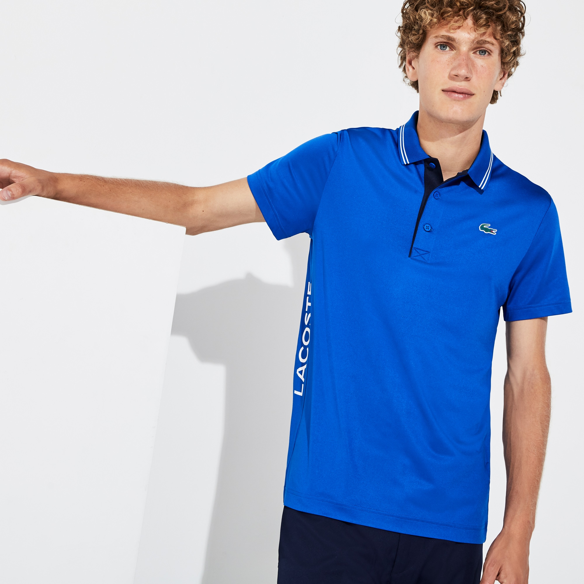 Men's SPORT Breathable Stretch Jersey Golf Polo