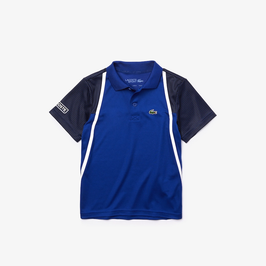 Boys' SPORT Breathable Piqué Tennis Polo
