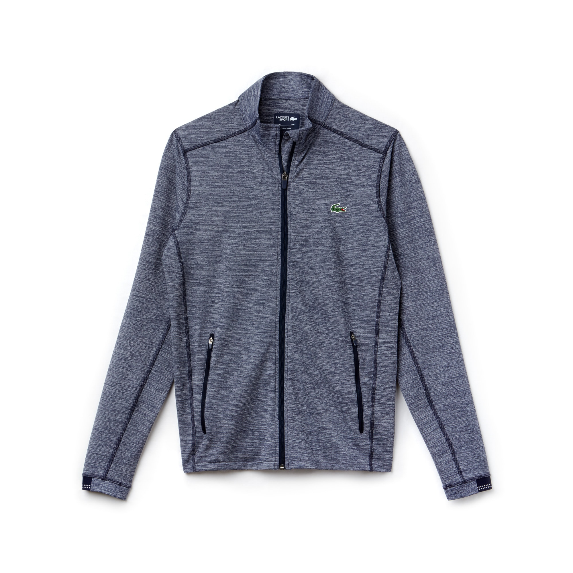 라코스테 Lacoste Mens SPORT Midlayer Golf Sweatshirt,aquatic/navy blue