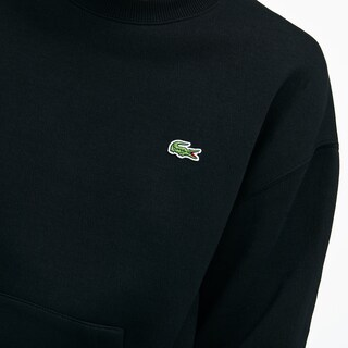 Unisex LIVE Crew Neck Embroidered Fleece Sweatshirt