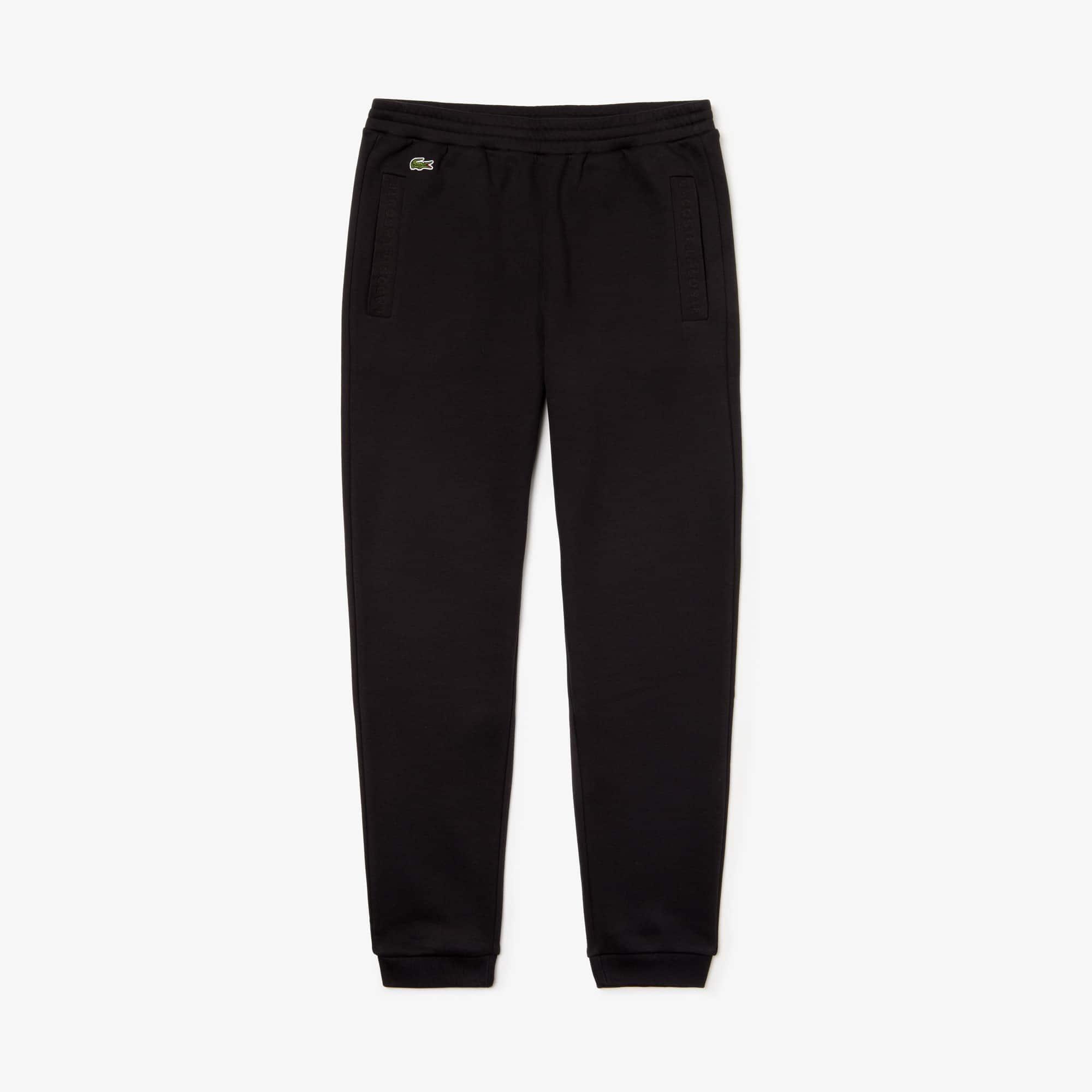 609f451ce9 Men's Lacoste Signature Fleece Sweatpants