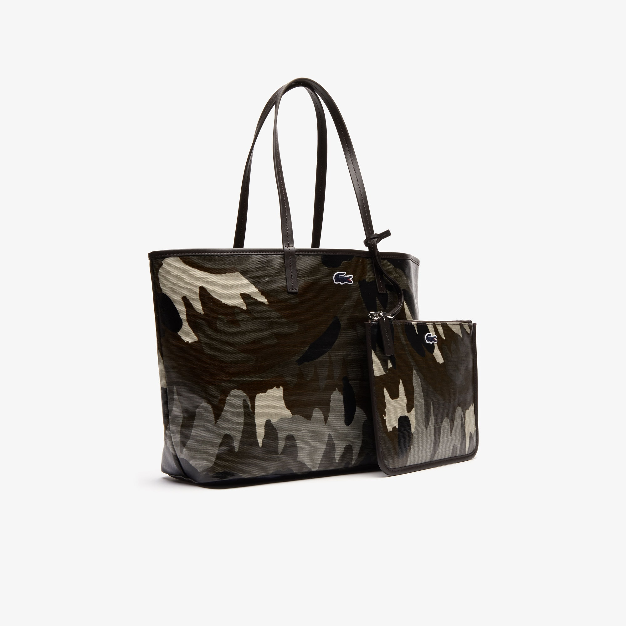 Women's Robert George Coated Print Canvas Tote Bag