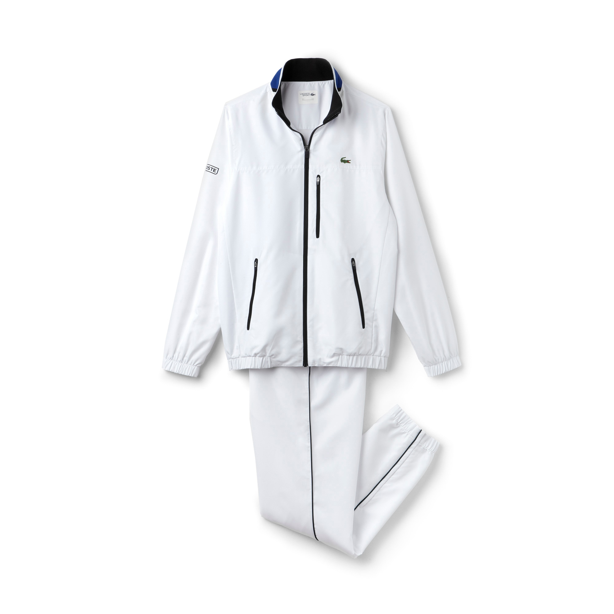 Men's SPORT Piping And Colorblock Tennis Tracksuit