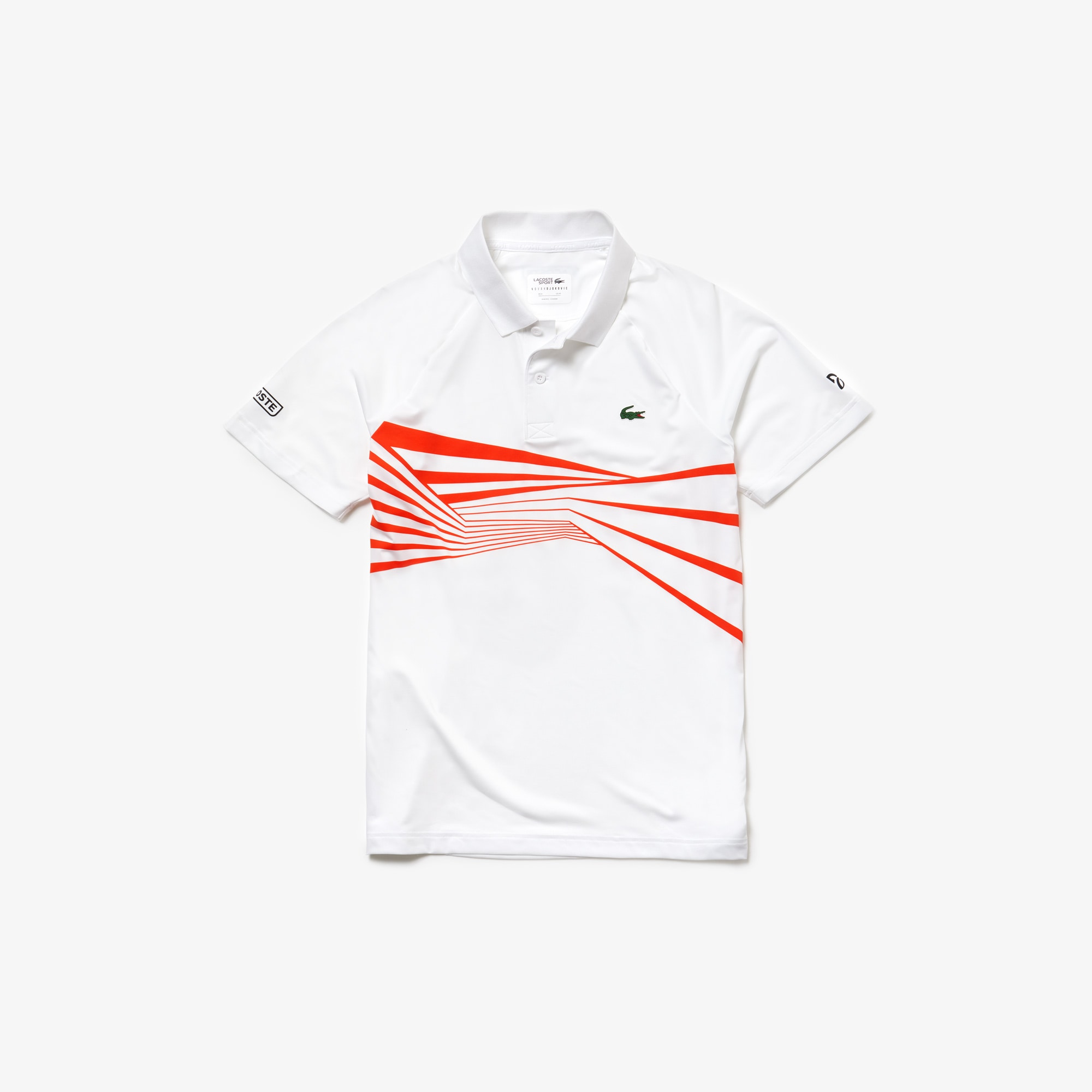 Polo SPORT Collection Novak Djokovic en jersey imprimé