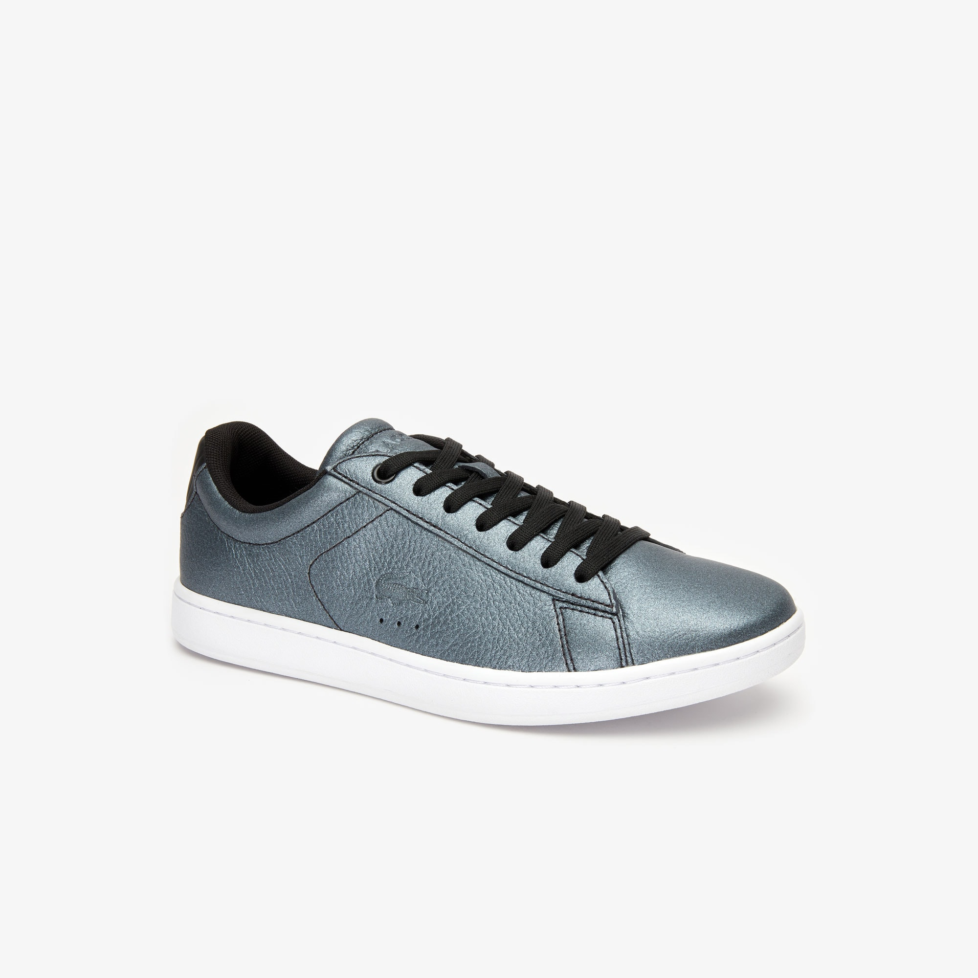 Lacoste Women's Carnaby Evo Iridescent Leather Sneakers