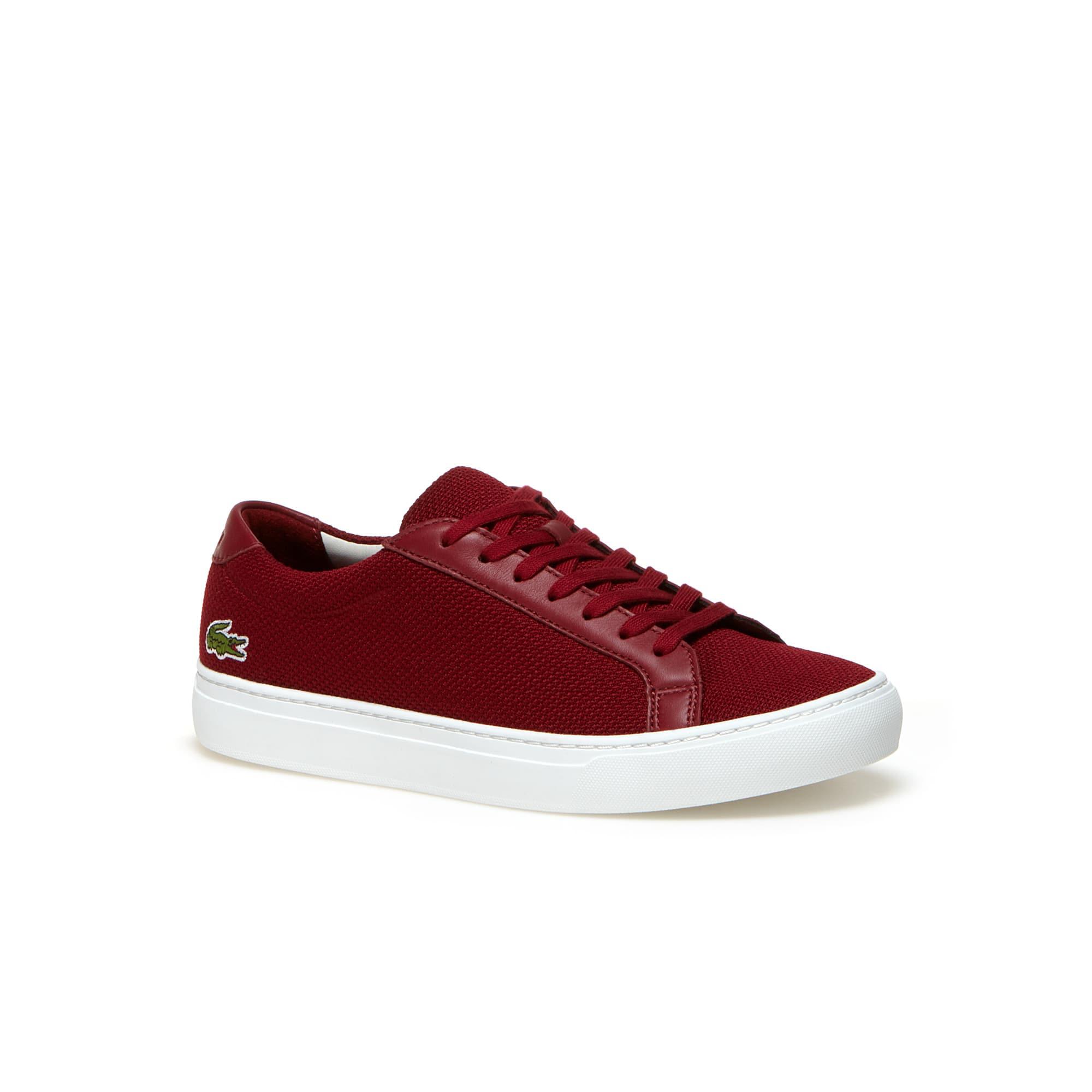 Men's L.12.12 Piqué Canvas Low-Rise Sneakers