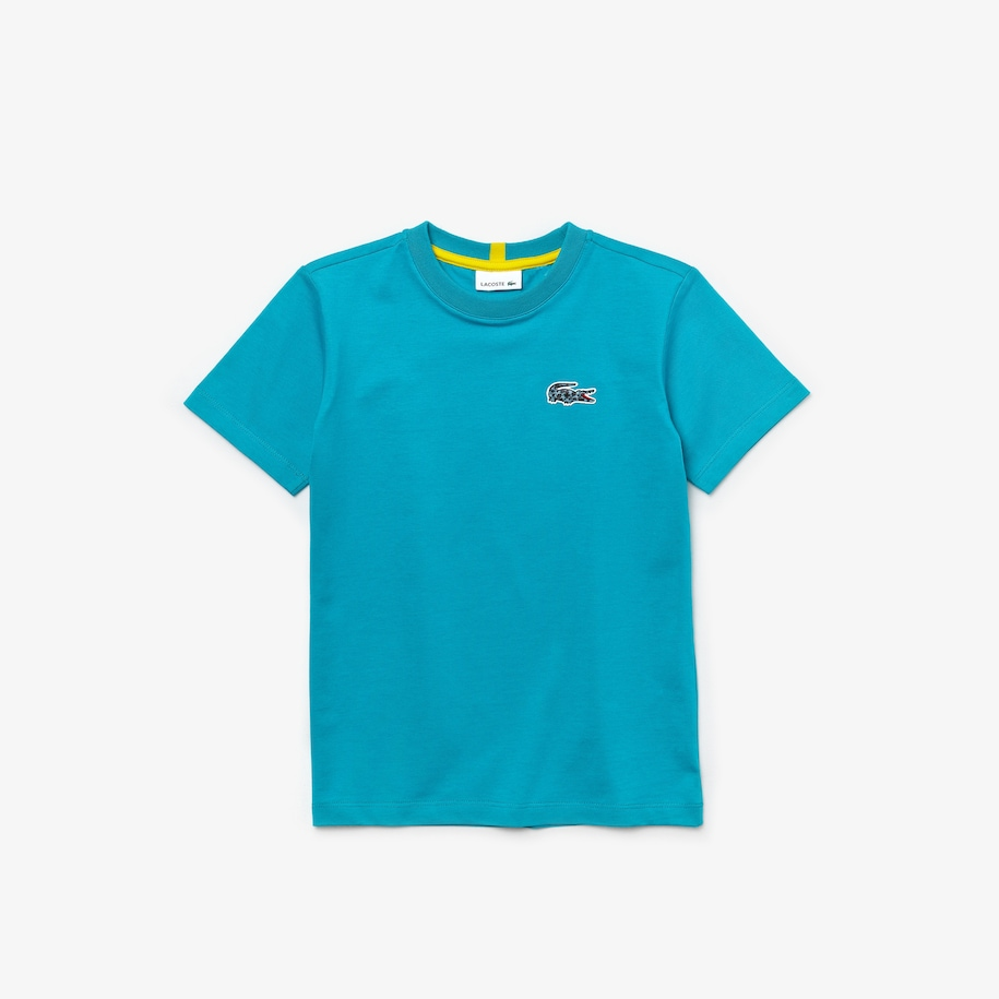 Boys' Lacoste x National Geographic Cotton T-shirt