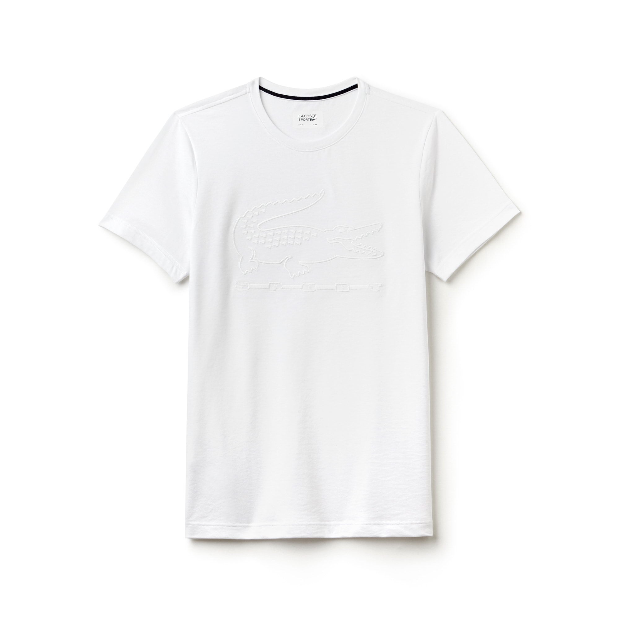 Men's  SPORT Tennis Embroidery Tech Jersey T-shirt