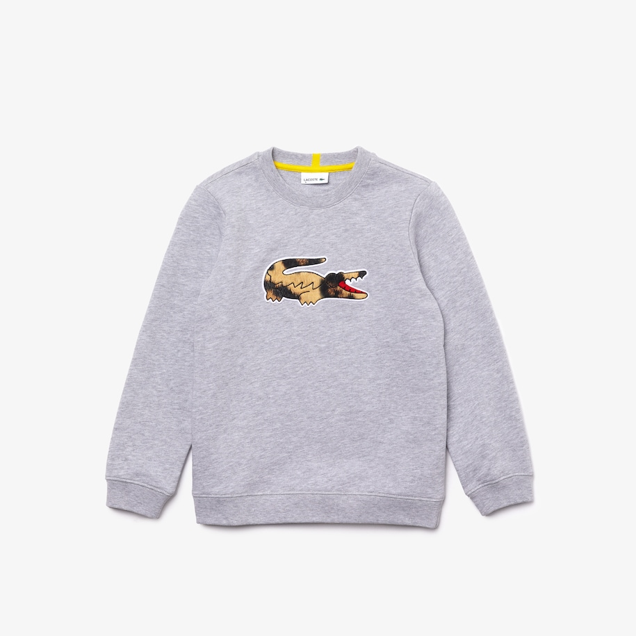 Boys' Lacoste x National Geographic Fleece Sweatshirt