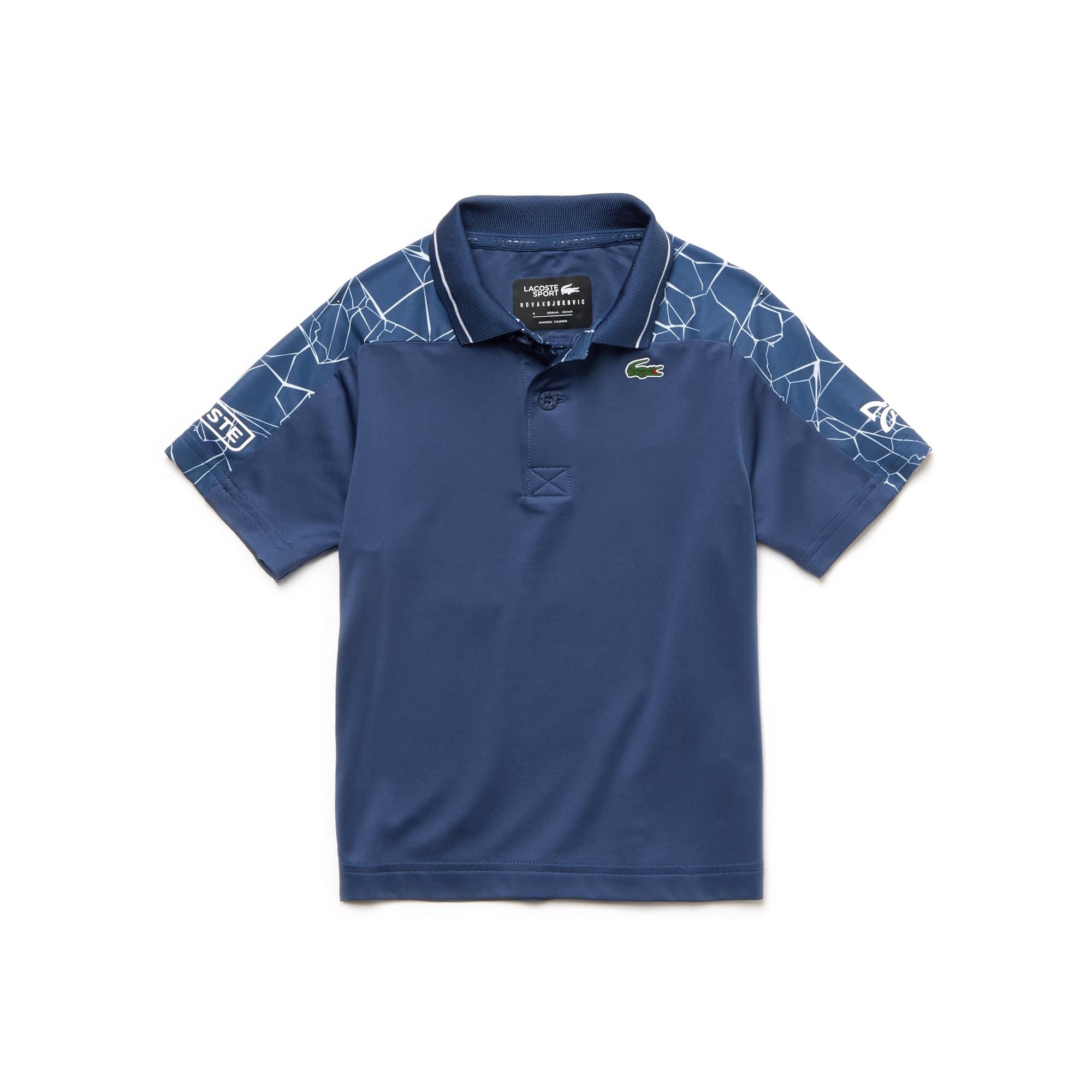 Boys' SPORT Stretch Technical Jersey Polo-  x Novak Djokovic Off Court Premium Edition