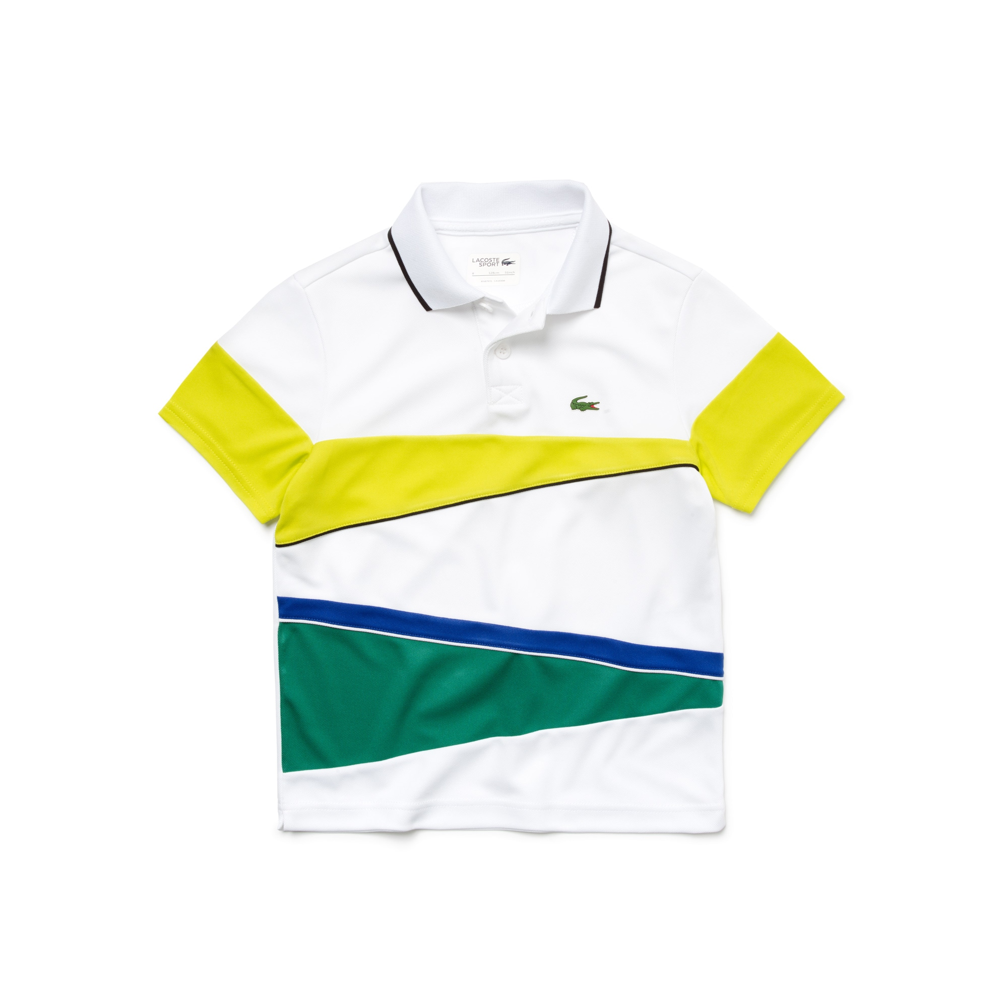 Kids' SPORT Resistant Colorblock Piqué Tennis Polo Shirt