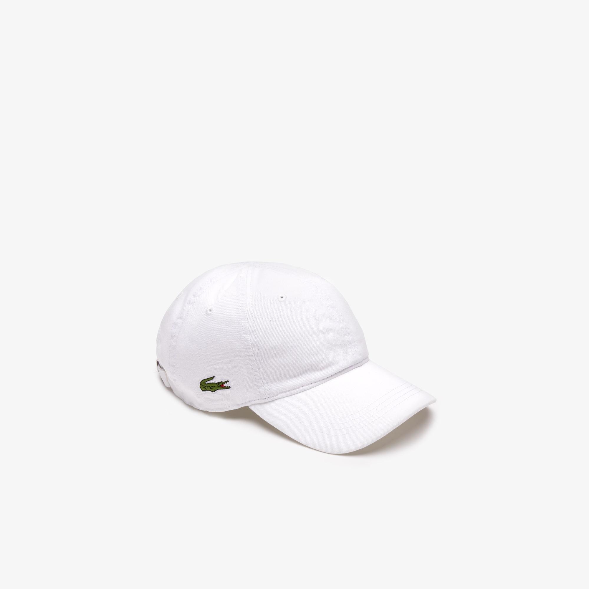 Men's Classic Gabardine 3Cm Croc Cap