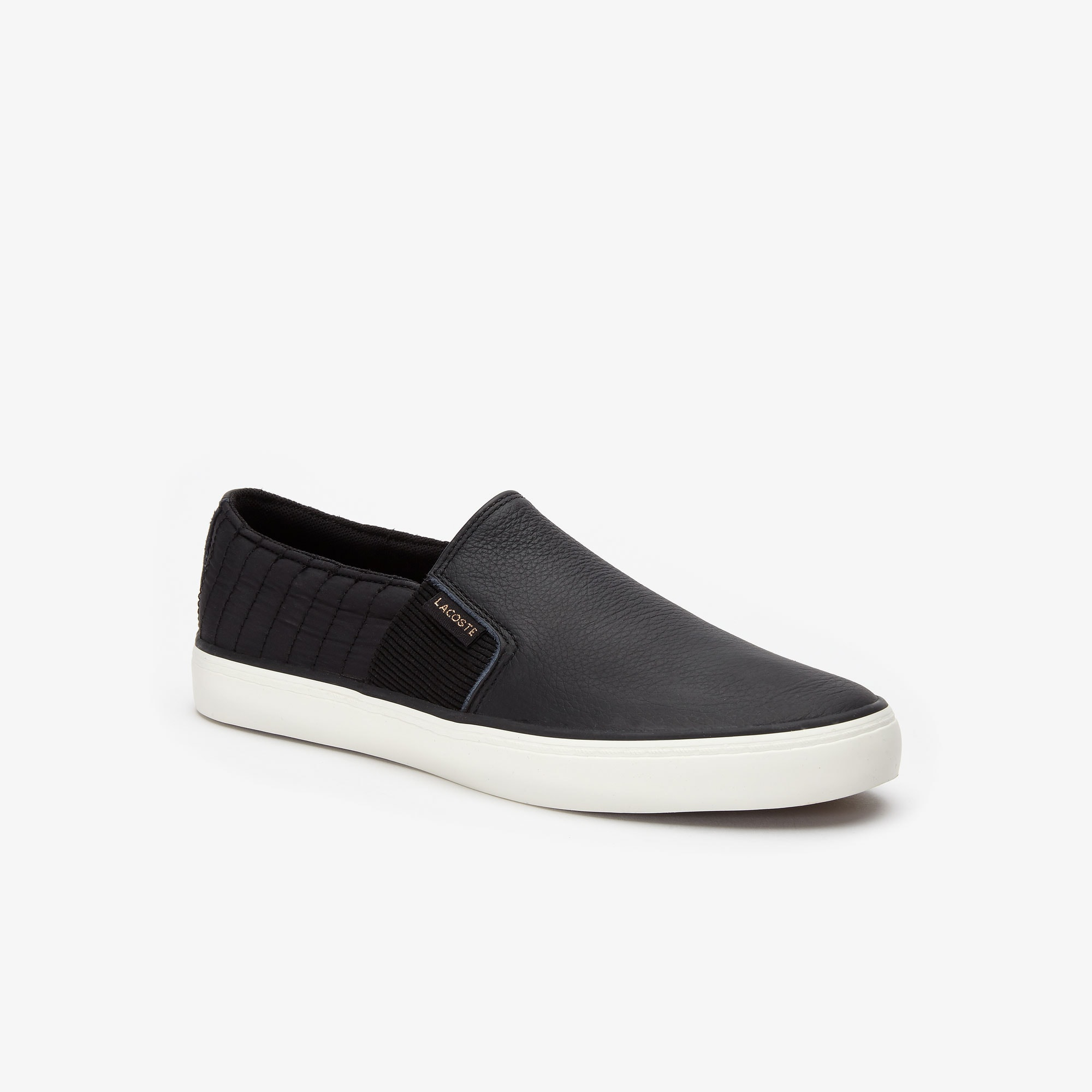 Lacoste Sneakers Women's Gazon 2.0 Leather-Paneled Slip On Sneakers