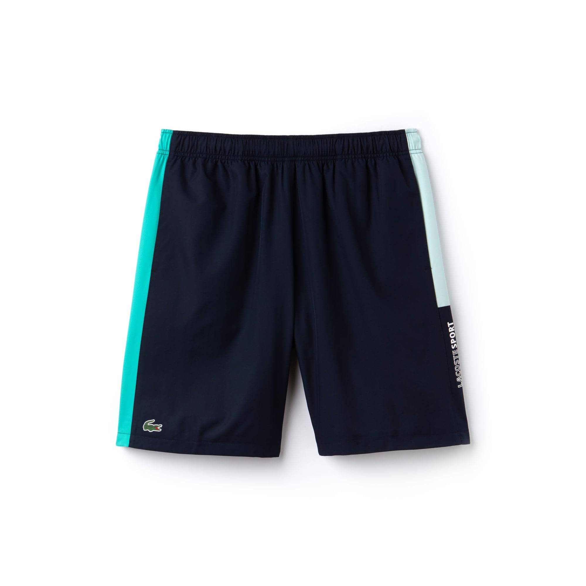 Men's SPORT coloured Bands Taffeta Tennis Shorts