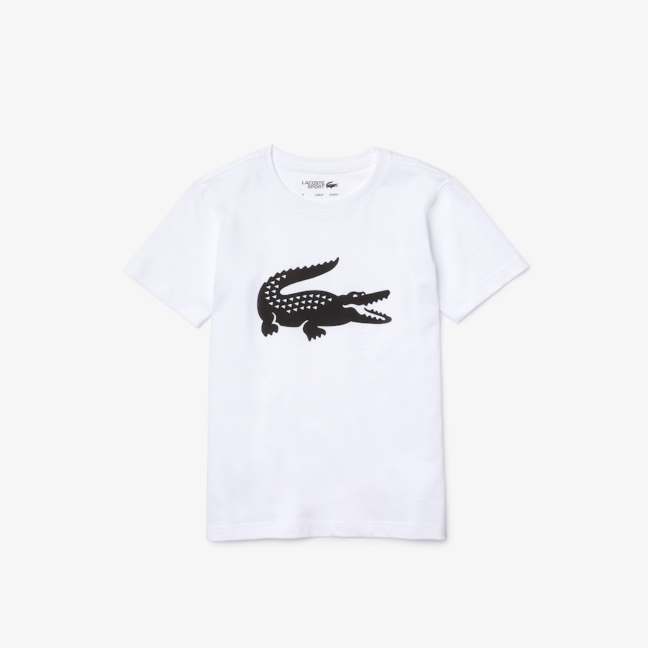 Boys' SPORT Tennis Technical Jersey Oversized Croc T-shirt