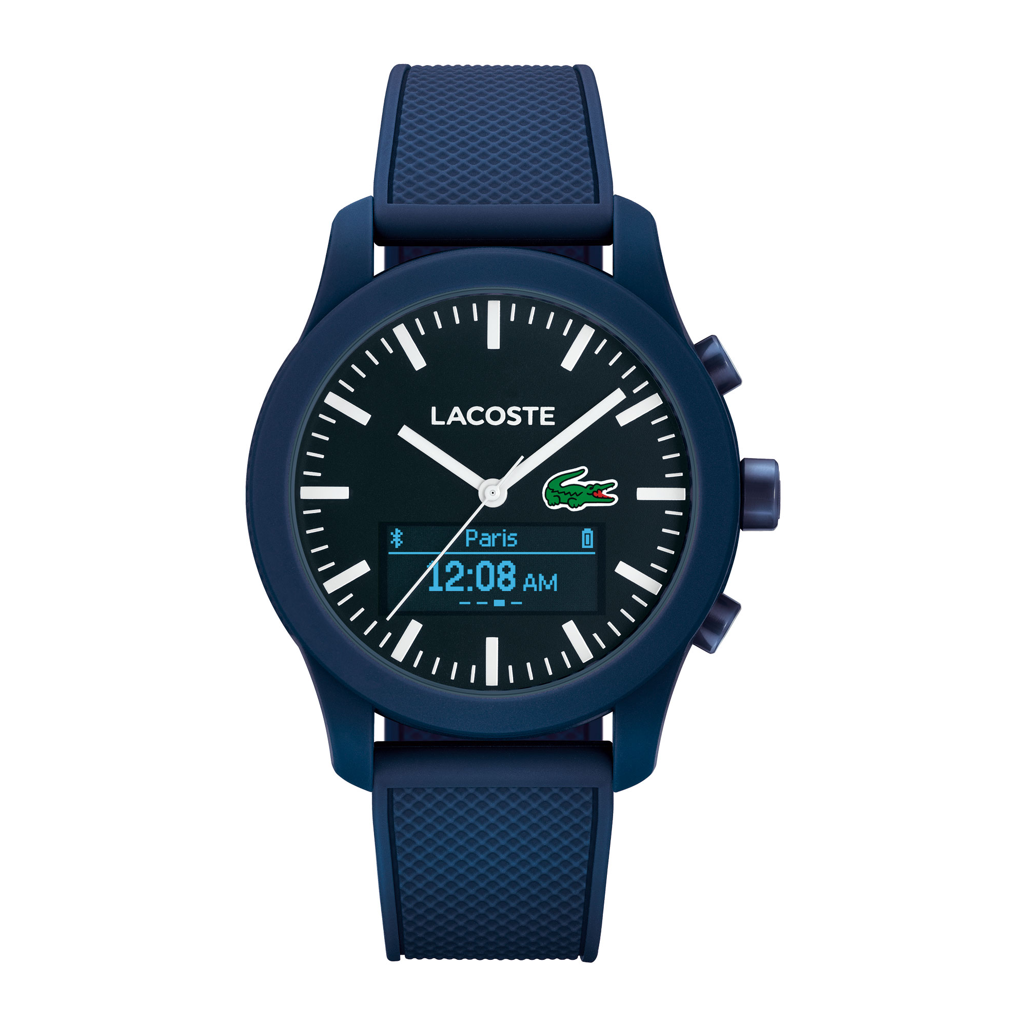 Unisex Lacoste.12.12 Contact Blue Smartwatch