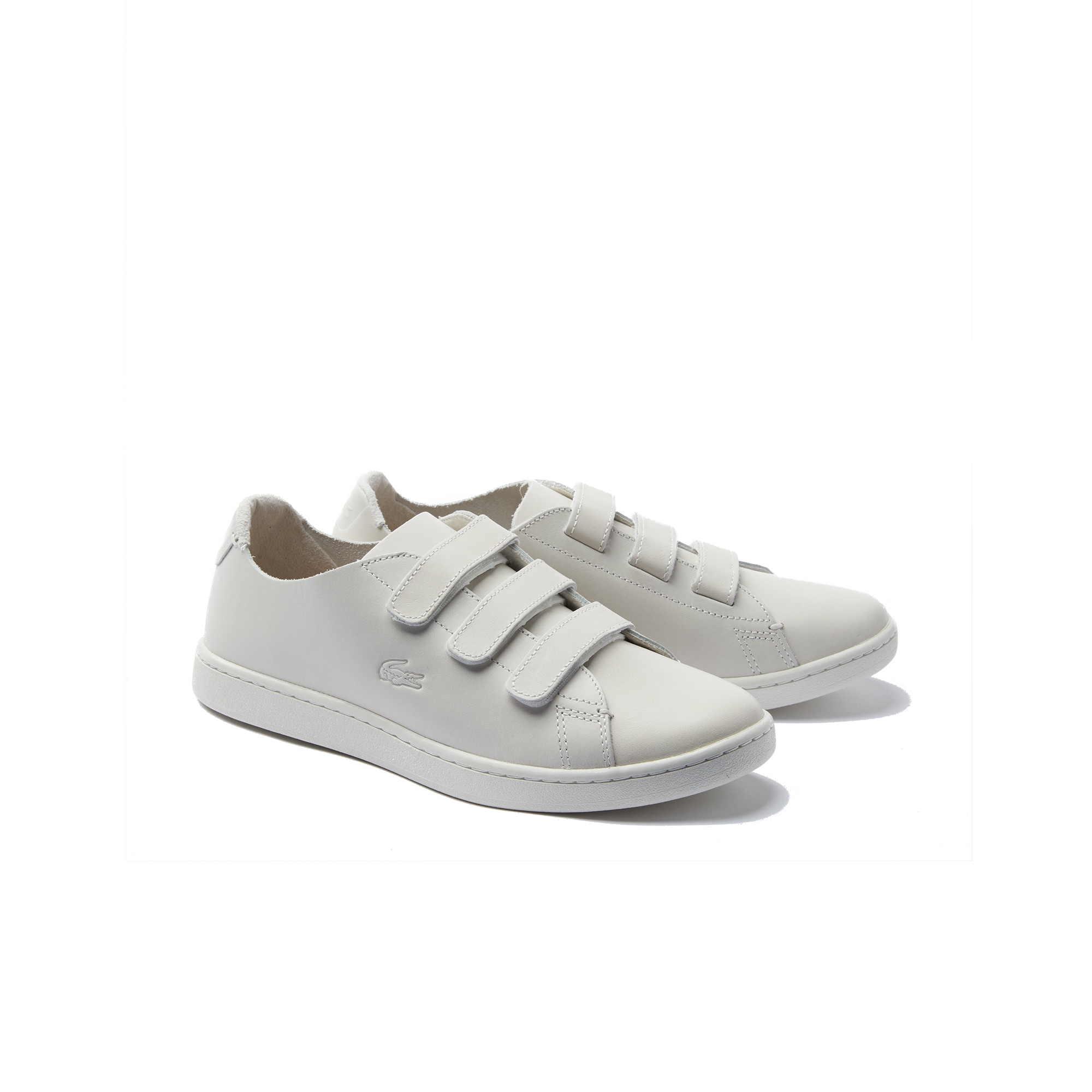 Lacoste WOMEN'S CARNABY STRAP LEATHER SNEAKERS uXfVdT6elc