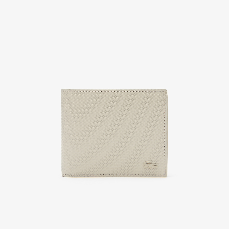Men's Chantaco Piqué Leather 8 Card Wallet