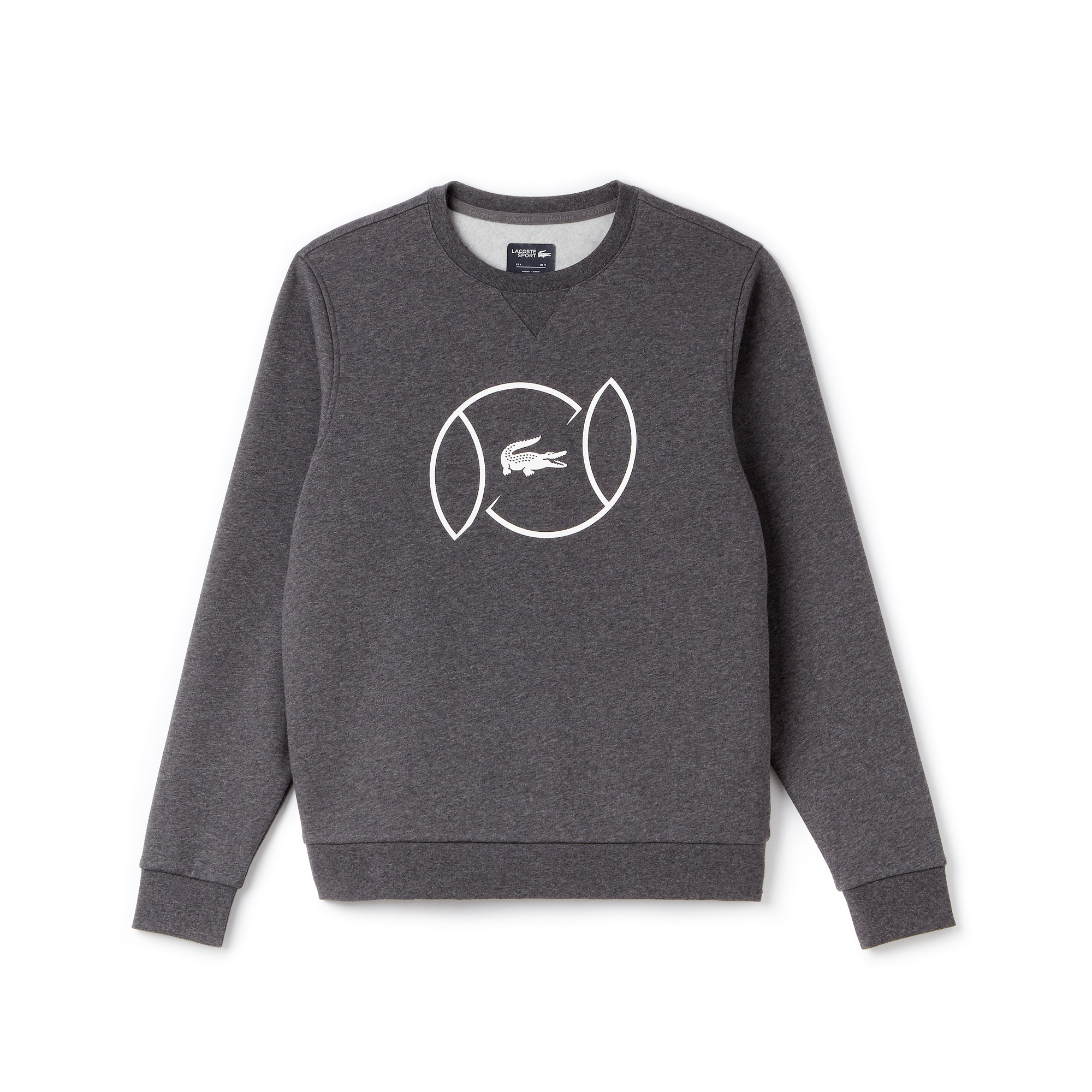Men's SPORT Fleece And Lettering Tennis Sweatshirt