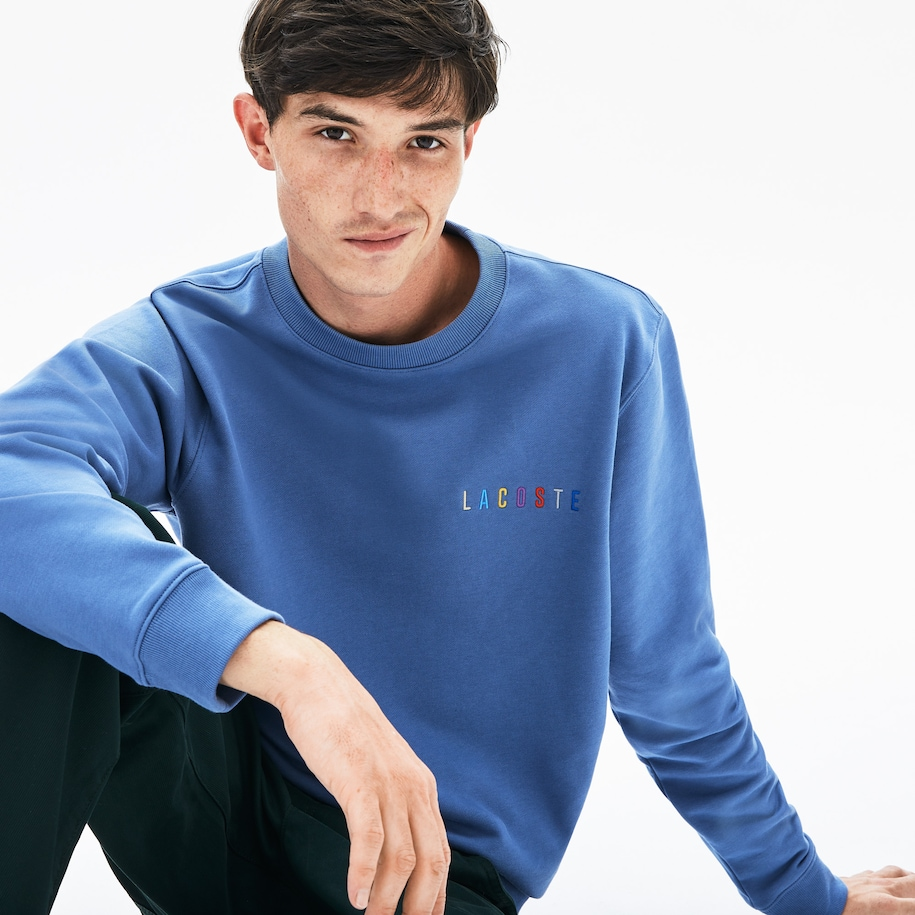 Men's Multicolor Logo Fleece Sweatshirt
