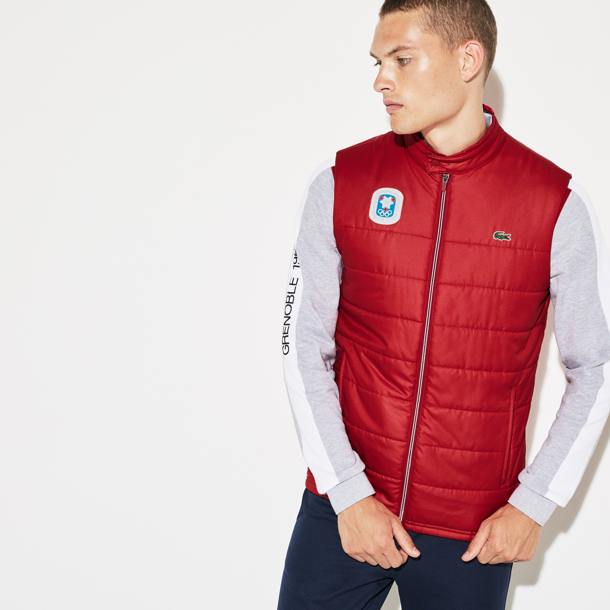 Doudoune sans manches Olympic Heritage Collection by Lacoste