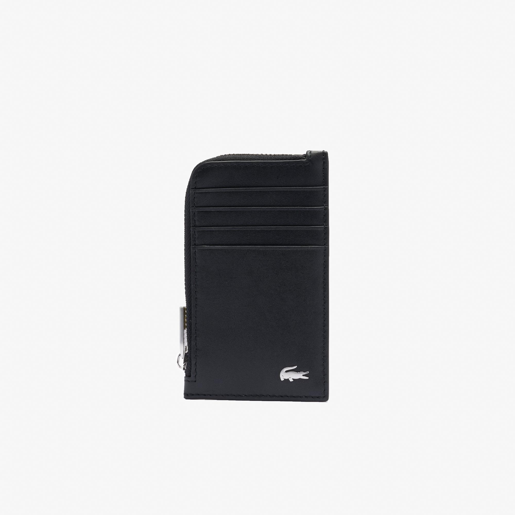 color black - Zip Card Holder
