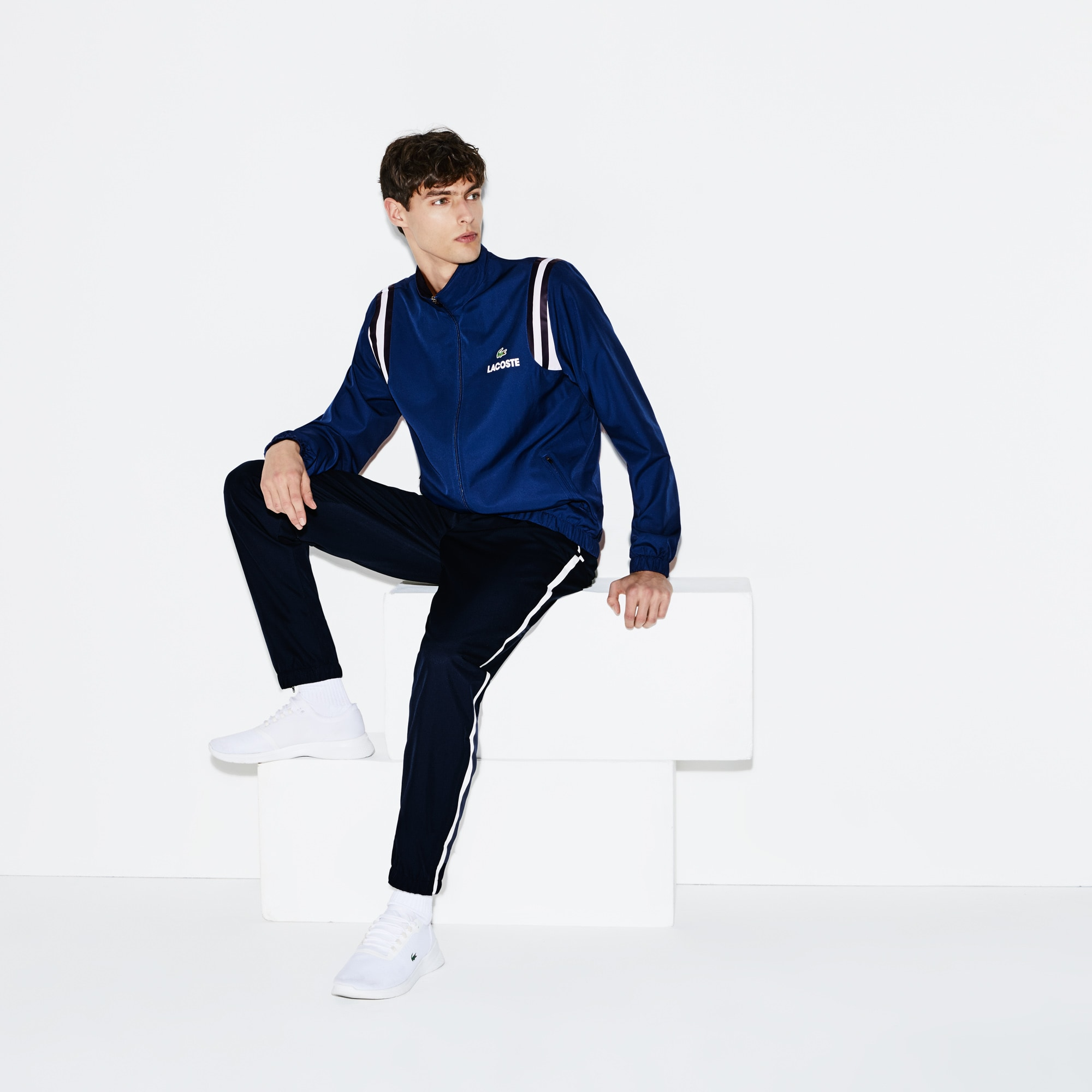 Men's SPORT Technical Stretch Jersey Trackpants - Novak Djokovic Supporter Collection