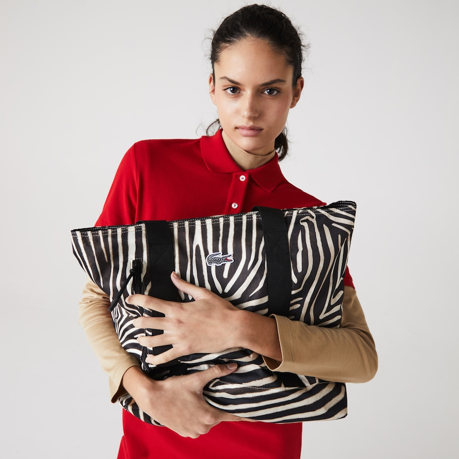 Women's Lacoste x National Geographic Animal Print Shopper