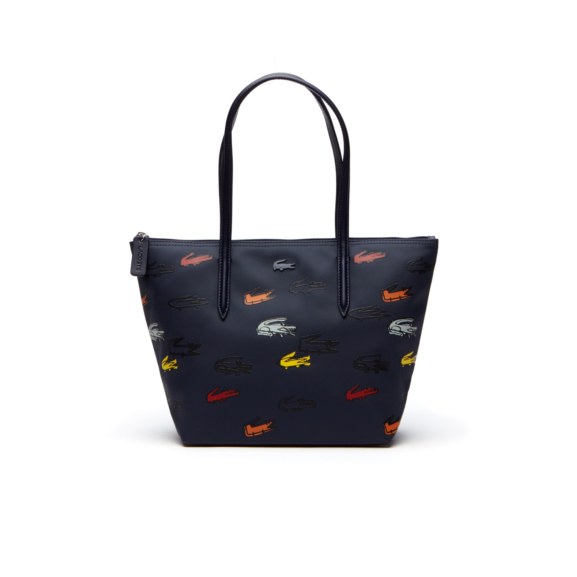 Women's L.12.12 Concept Croc Print Small Zip Tote Bag