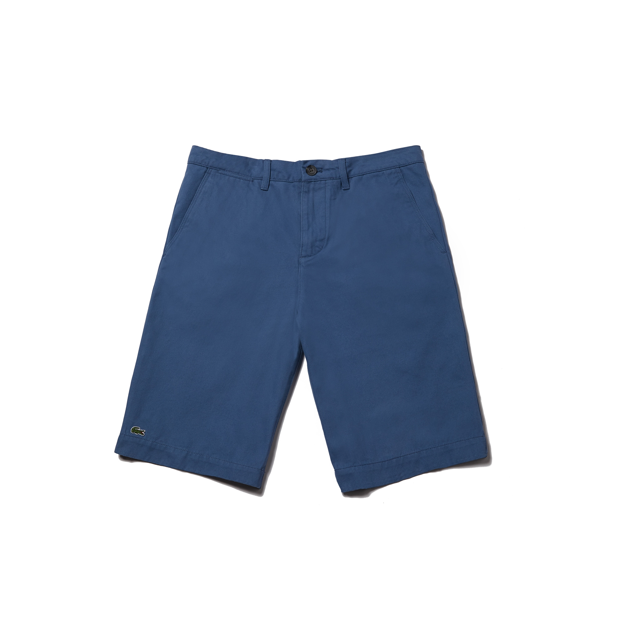 라코스테 반바지 Lacoste Mens Regular Fit Bermuda Shorts,rusty blue
