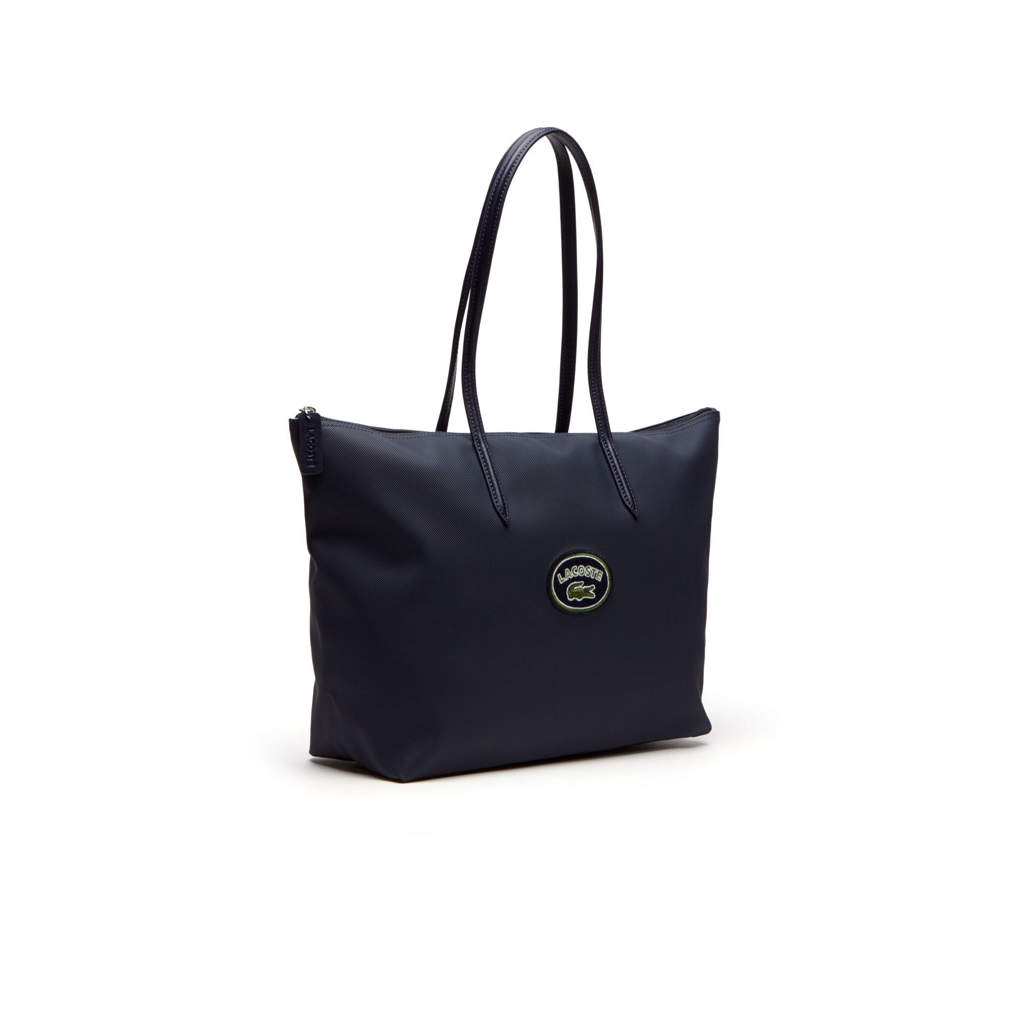 Women's L.12.12 Concept Badge Large Zip Tote