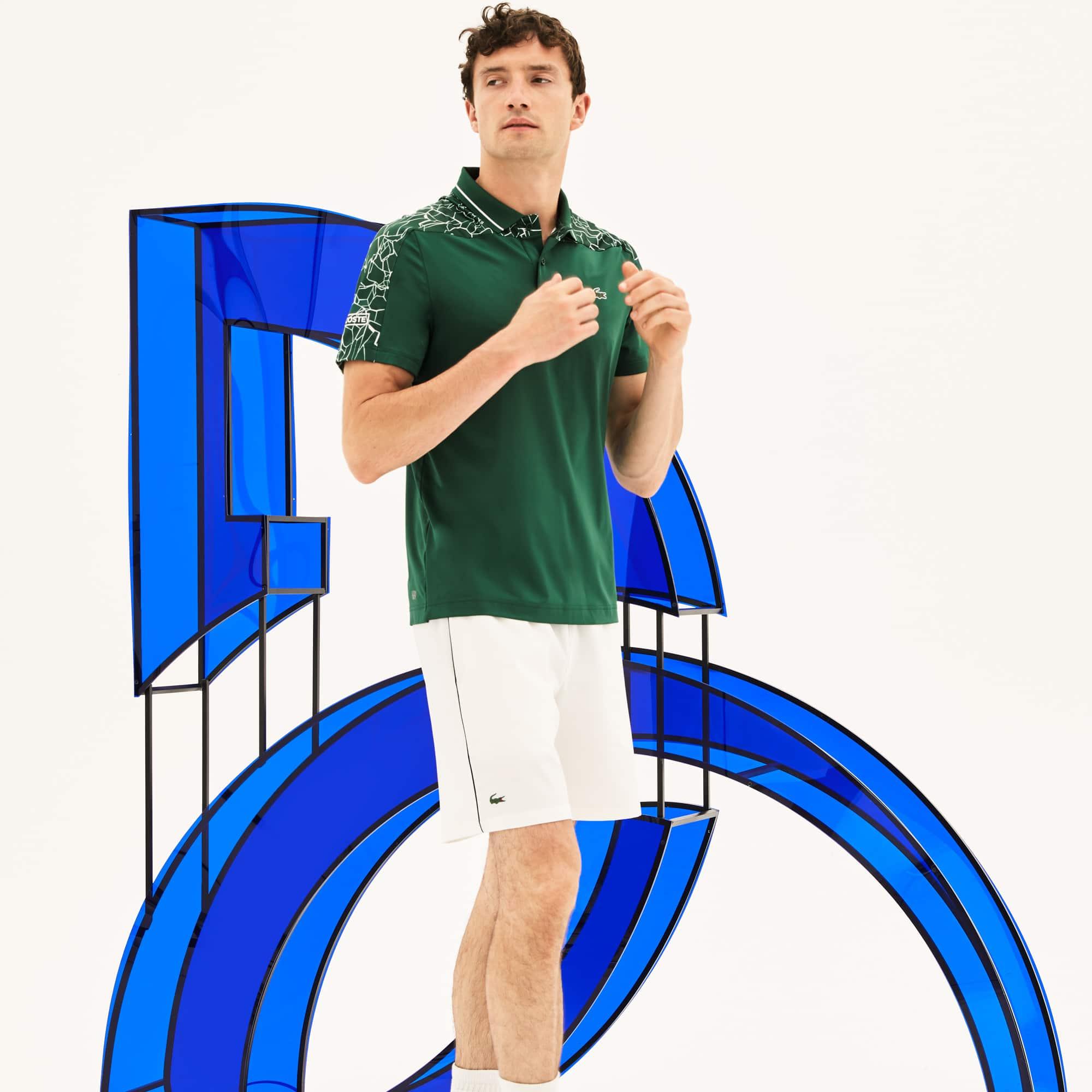 Men's SPORT Stretch Technical Jersey Polo -  x Novak Djokovic On Court Premium Edition