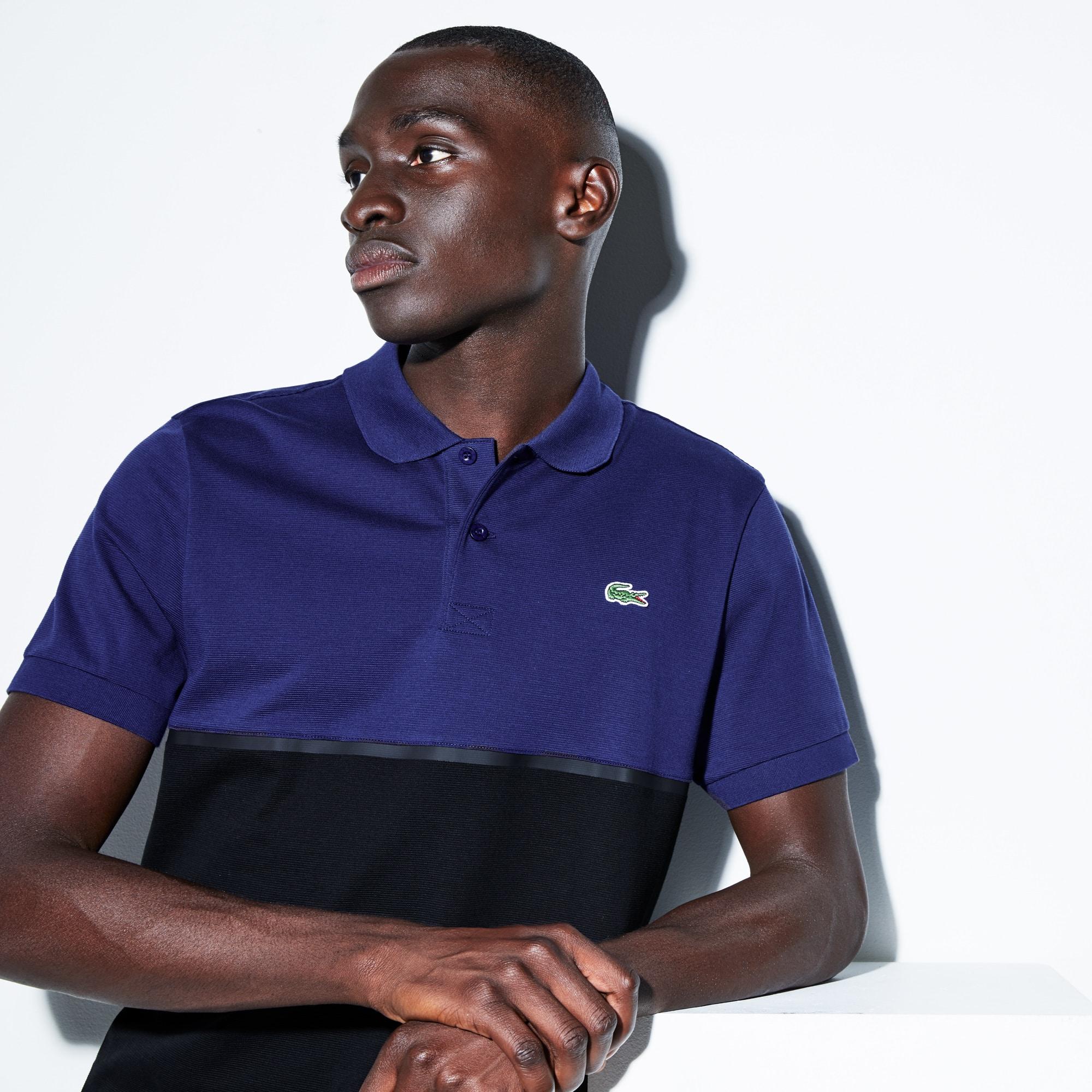 Men's SPORT Colorblock Ultra-Light Cotton Tennis Polo