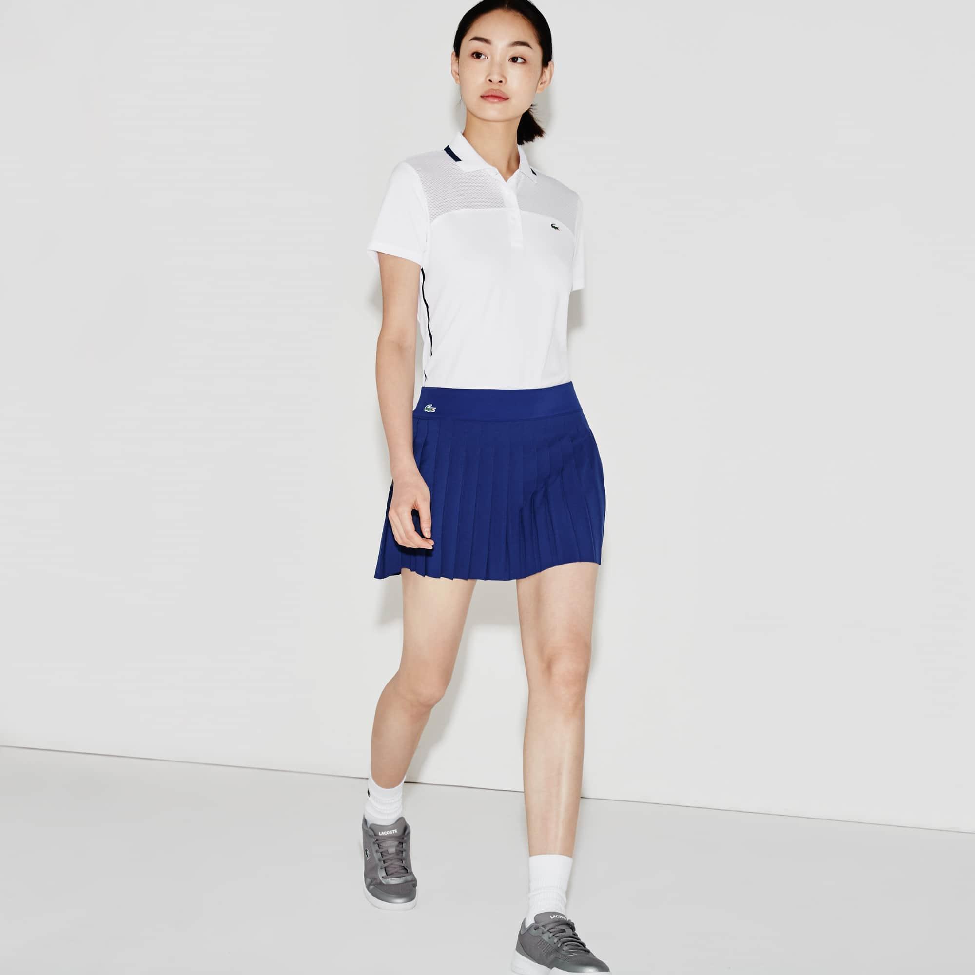 Women's  SPORT Tennis Technical Mesh Pleated Skirt