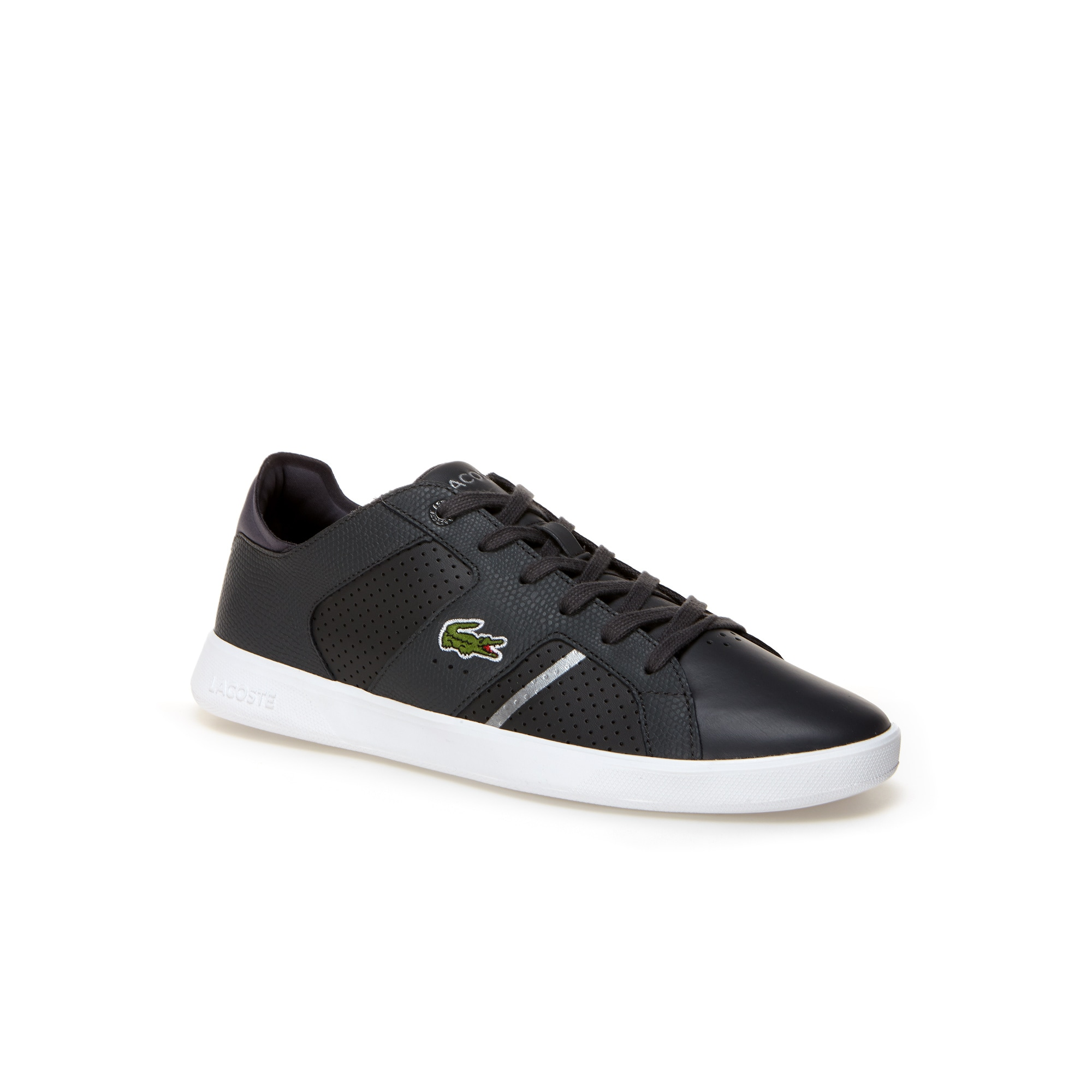 Lacoste MEN'S NOVAS CT LEATHER TRAINERS fAQVDc