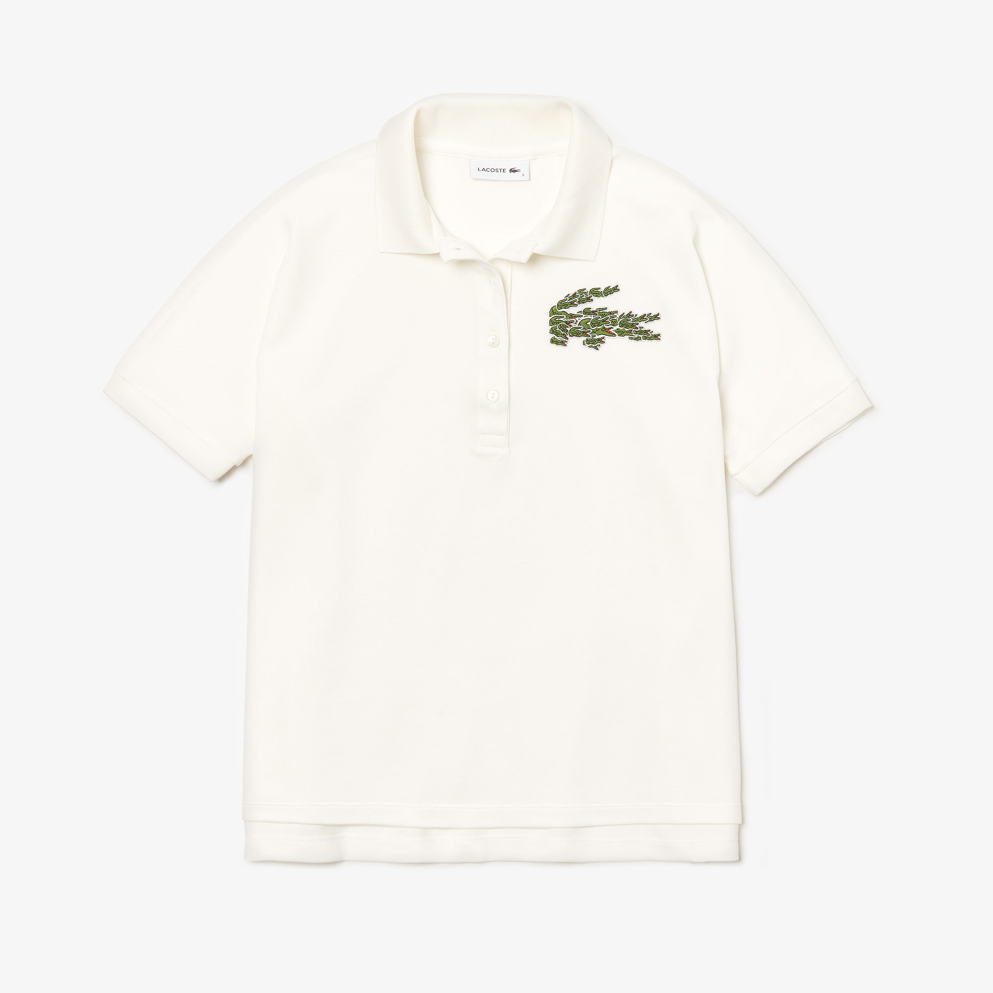 Women's Relaxed Fit Croco Magic Logo Piqué Polo