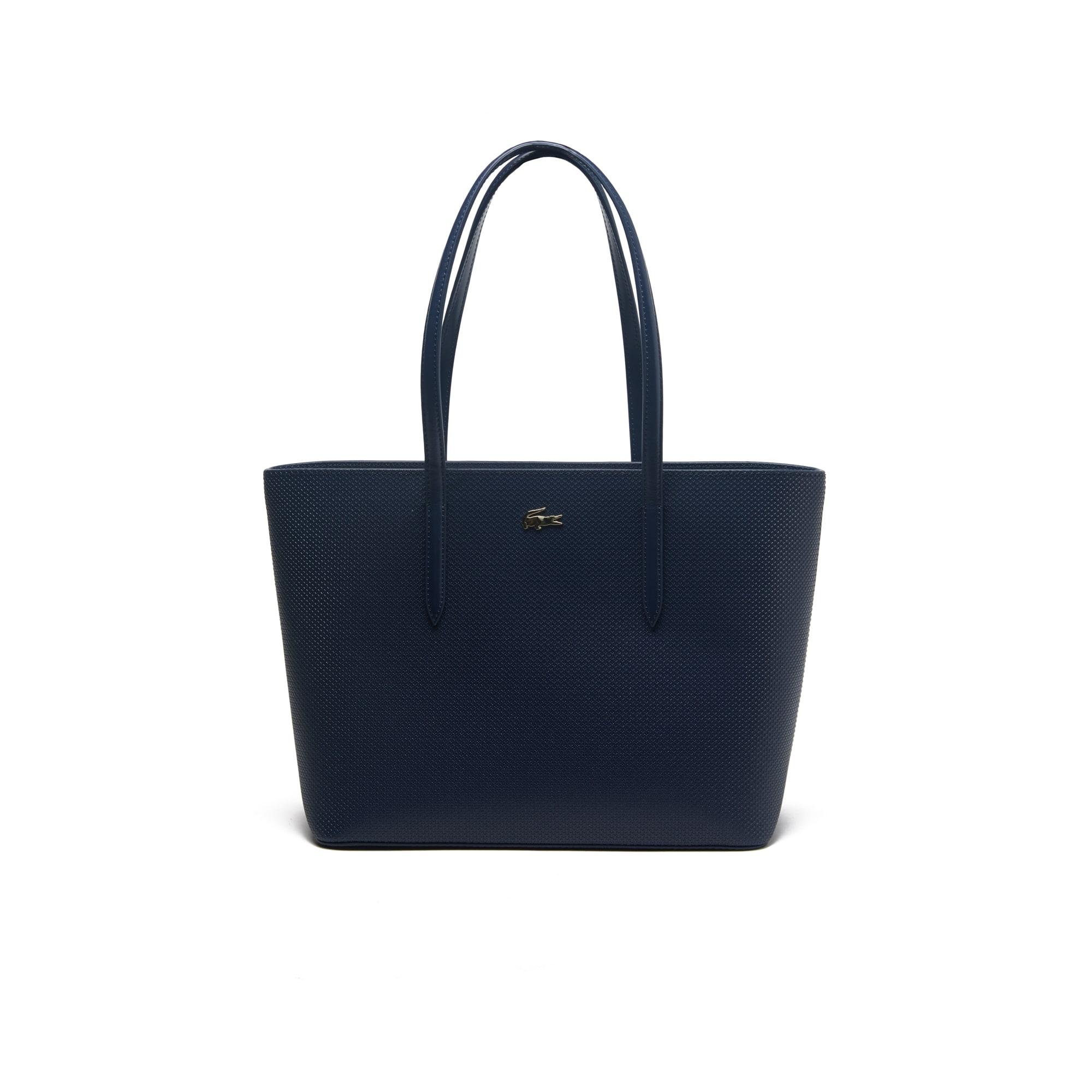 Women's Chantaco Piqué Leather Zip Tote Bag
