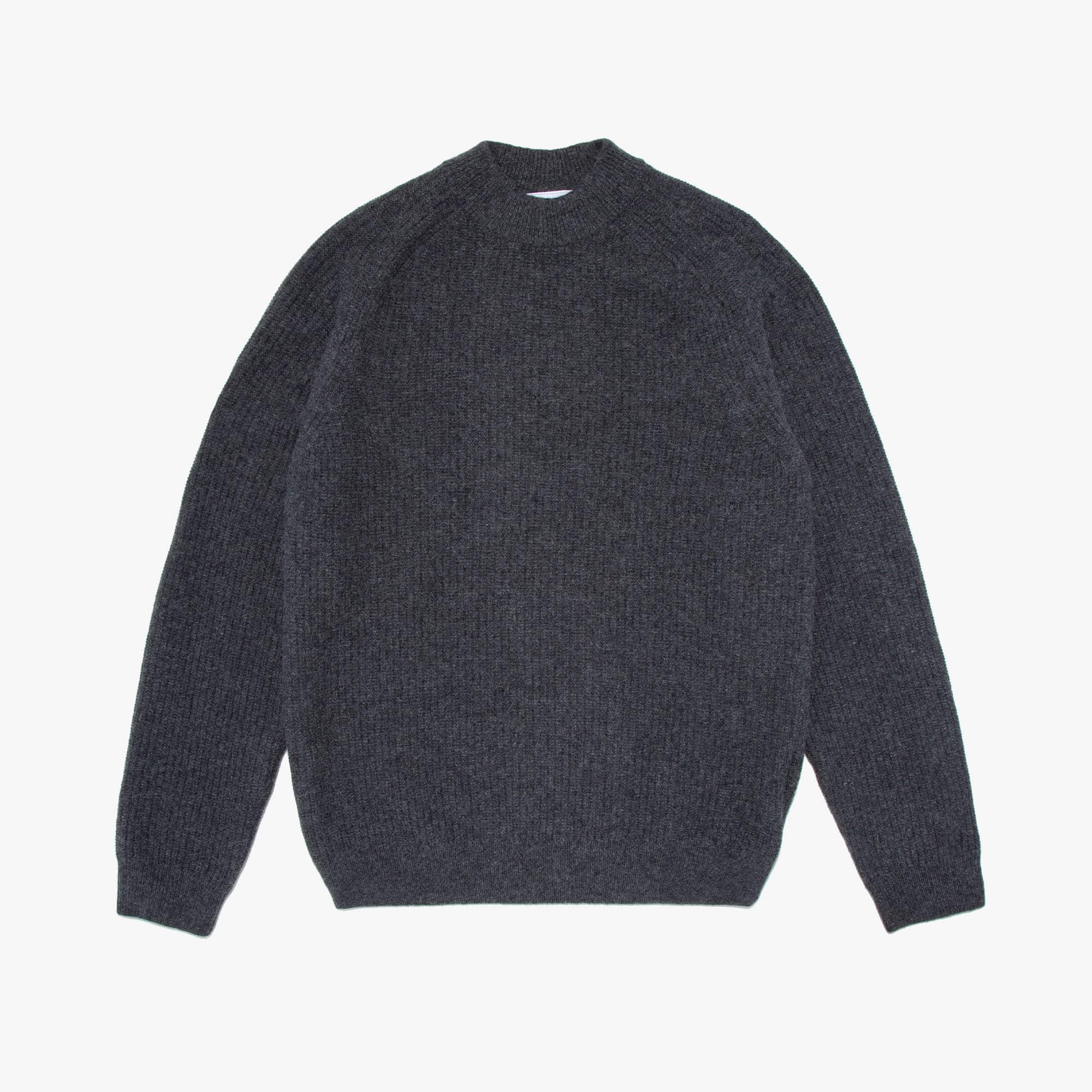 Men's Crewneck Wool And Alpaca Sweater