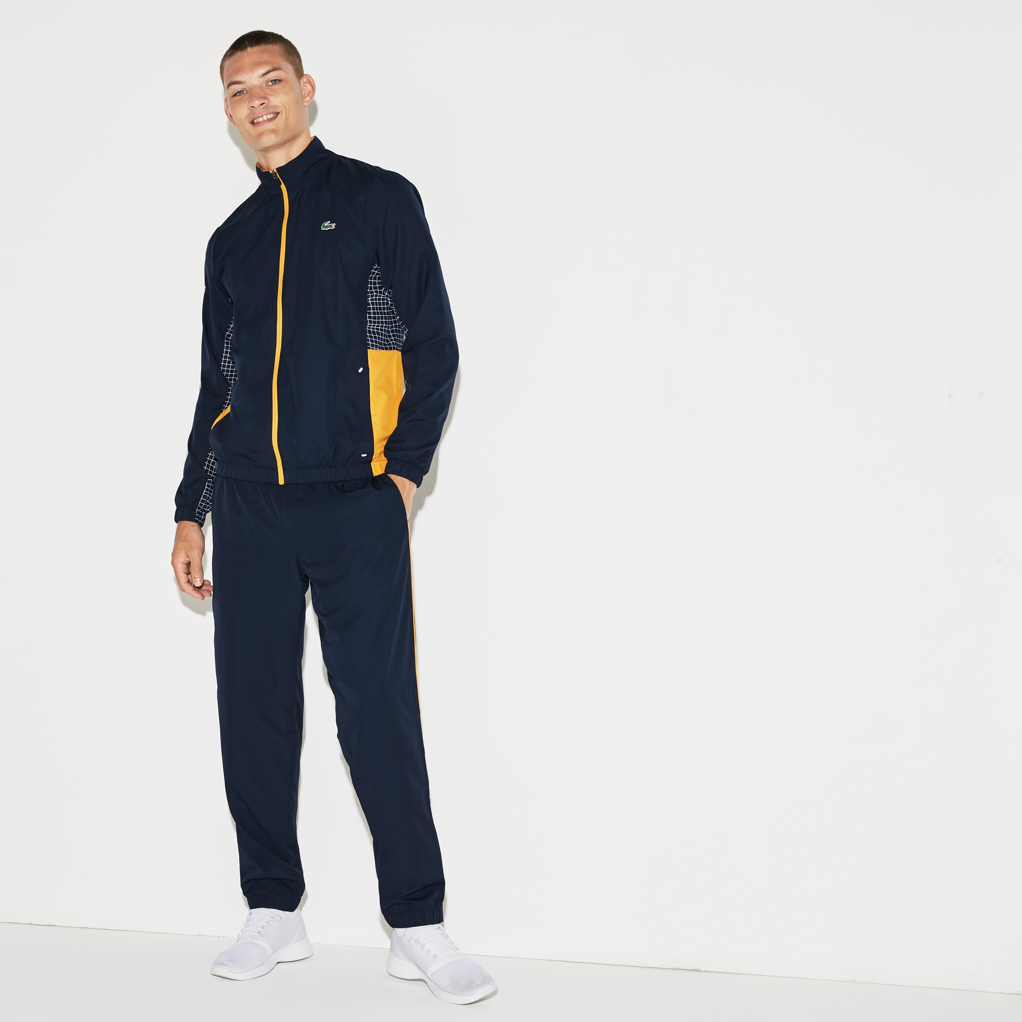 Men's SPORT Piped Taffeta Tennis Tracksuit