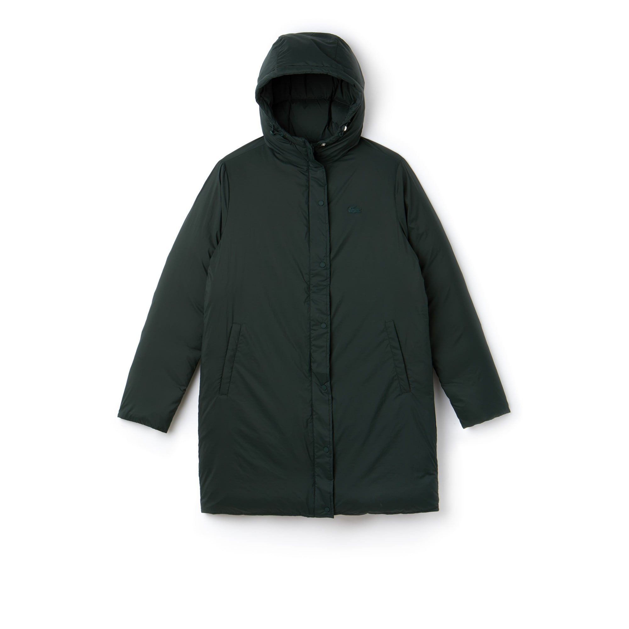 Women's Reversible Hooded Nylon Quilted Jacket