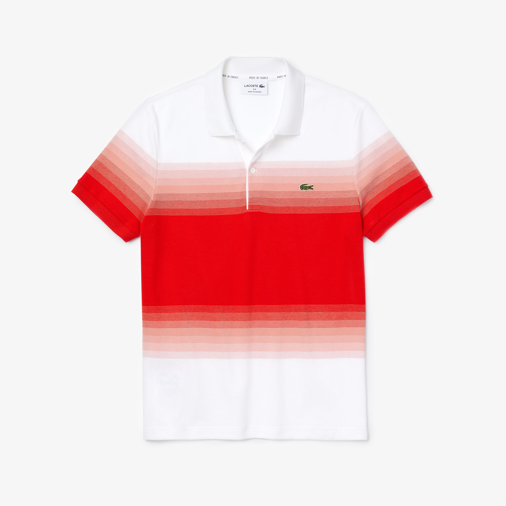 Men's Made in France Cotton Piqué Regular Fit Polo Shirt
