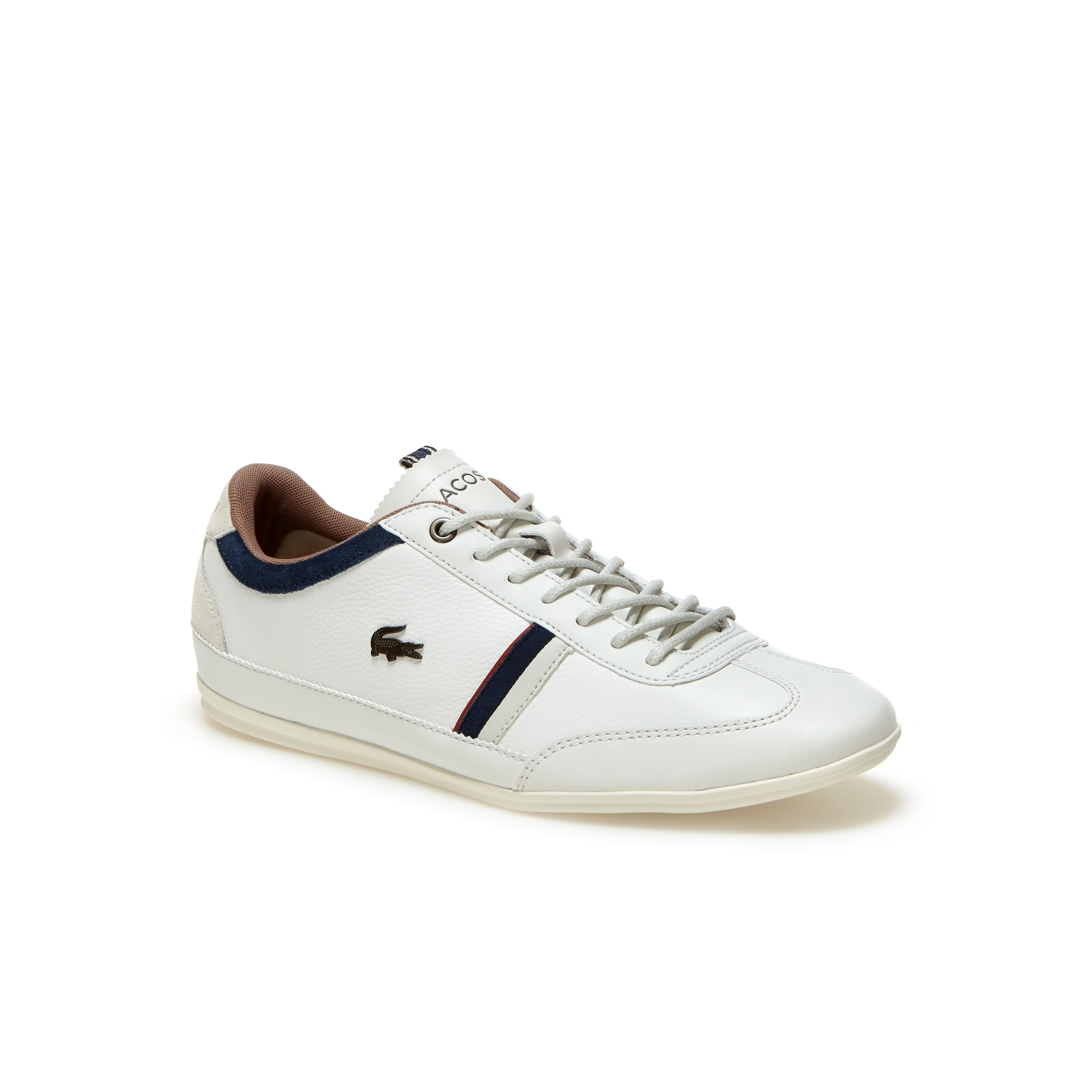 Lacoste MEN'S MISANO LEATHER TRAINERS Ii0D6YuQP